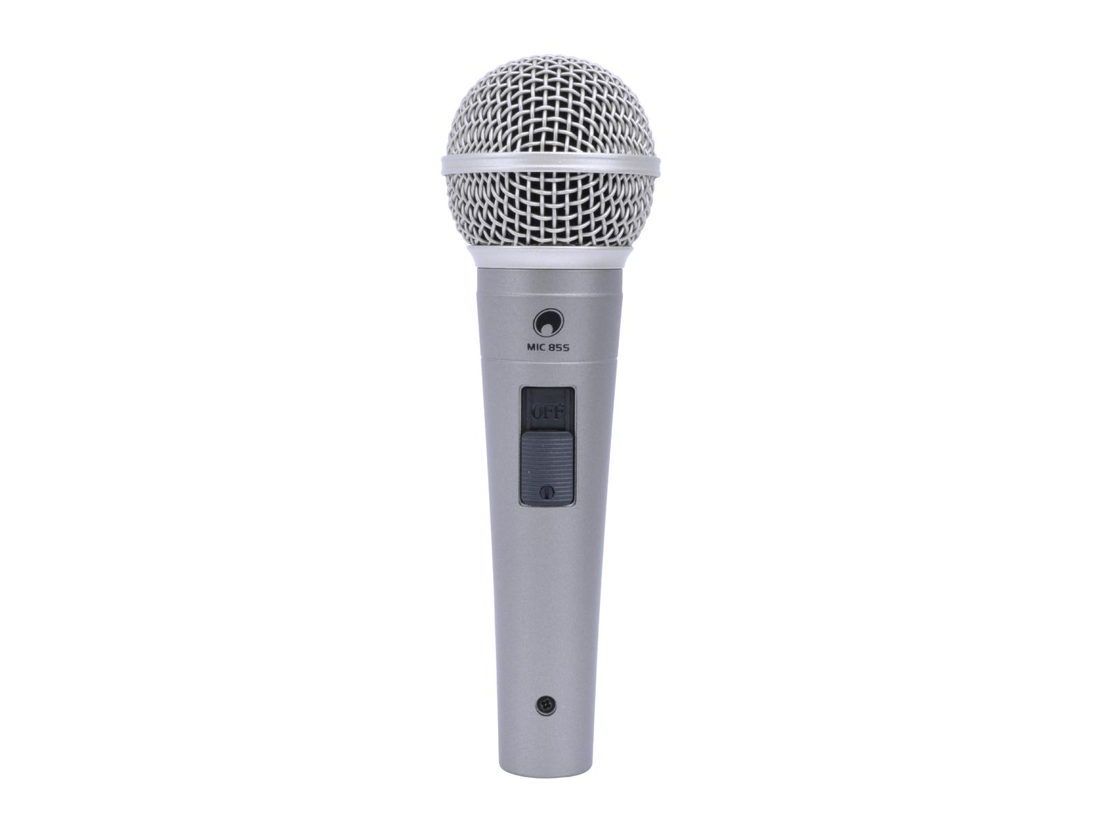 OMNITRONIC MIC 85S microfono Dinamico con interruttore