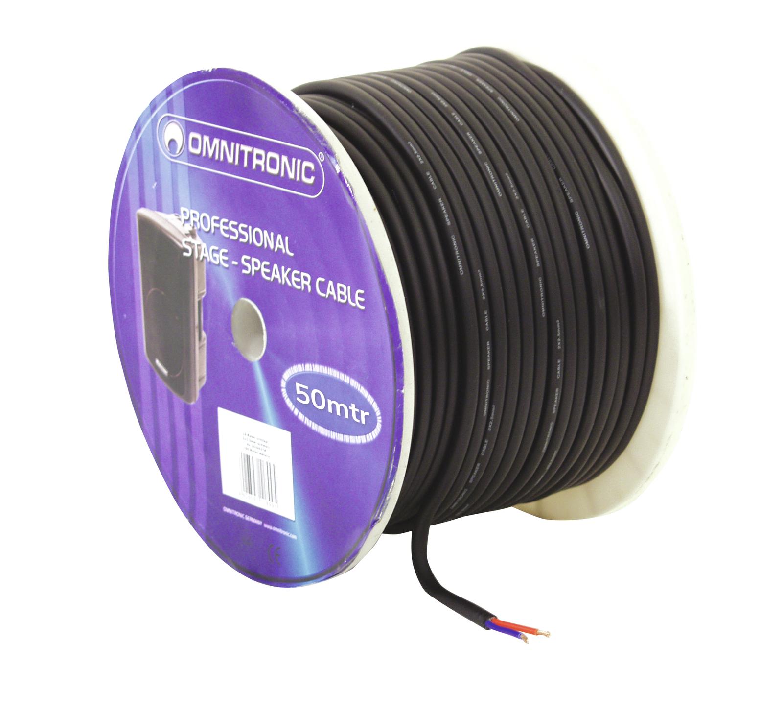Cable Coil Coil Cable Bulk 2x2.5 50mt Omnitronic