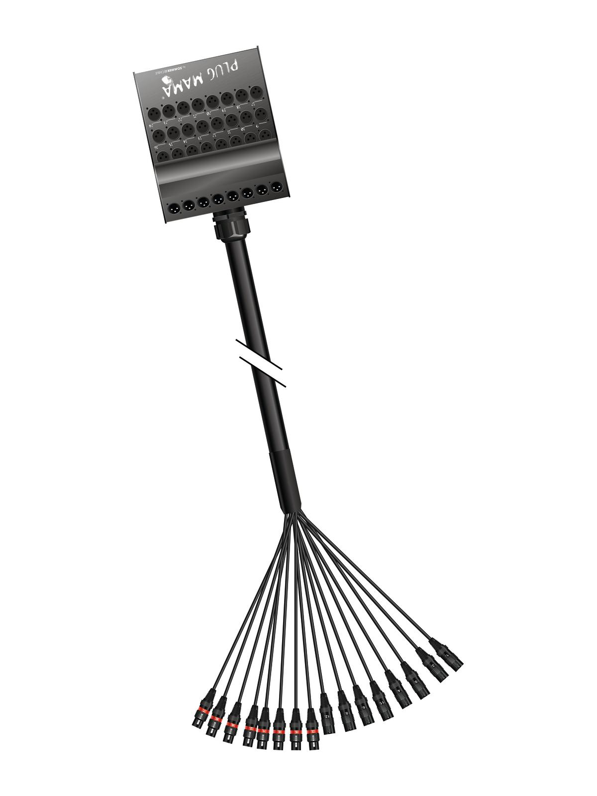 SOMMER CAVO Multicore Stagebox 12/4 50m Plug Mama