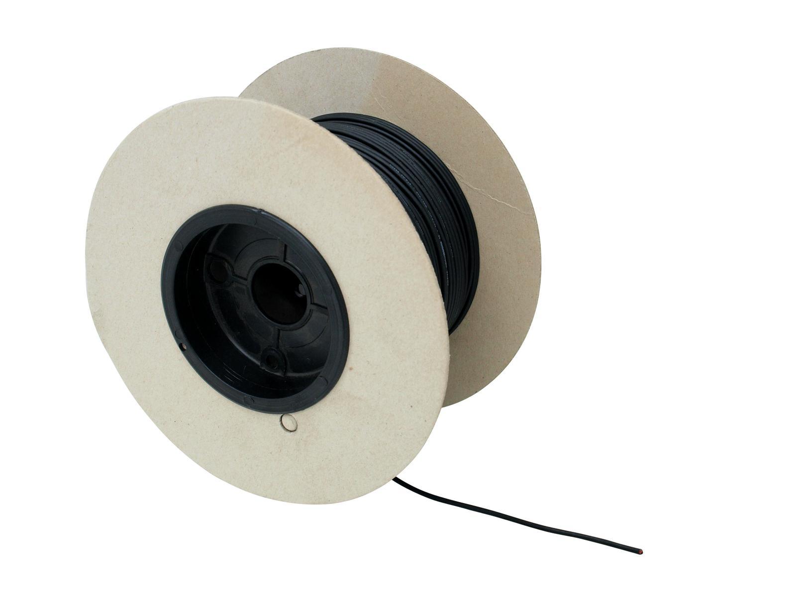SOMMER CAVO cavo microfonico 2x0.14 100m bk CICALA