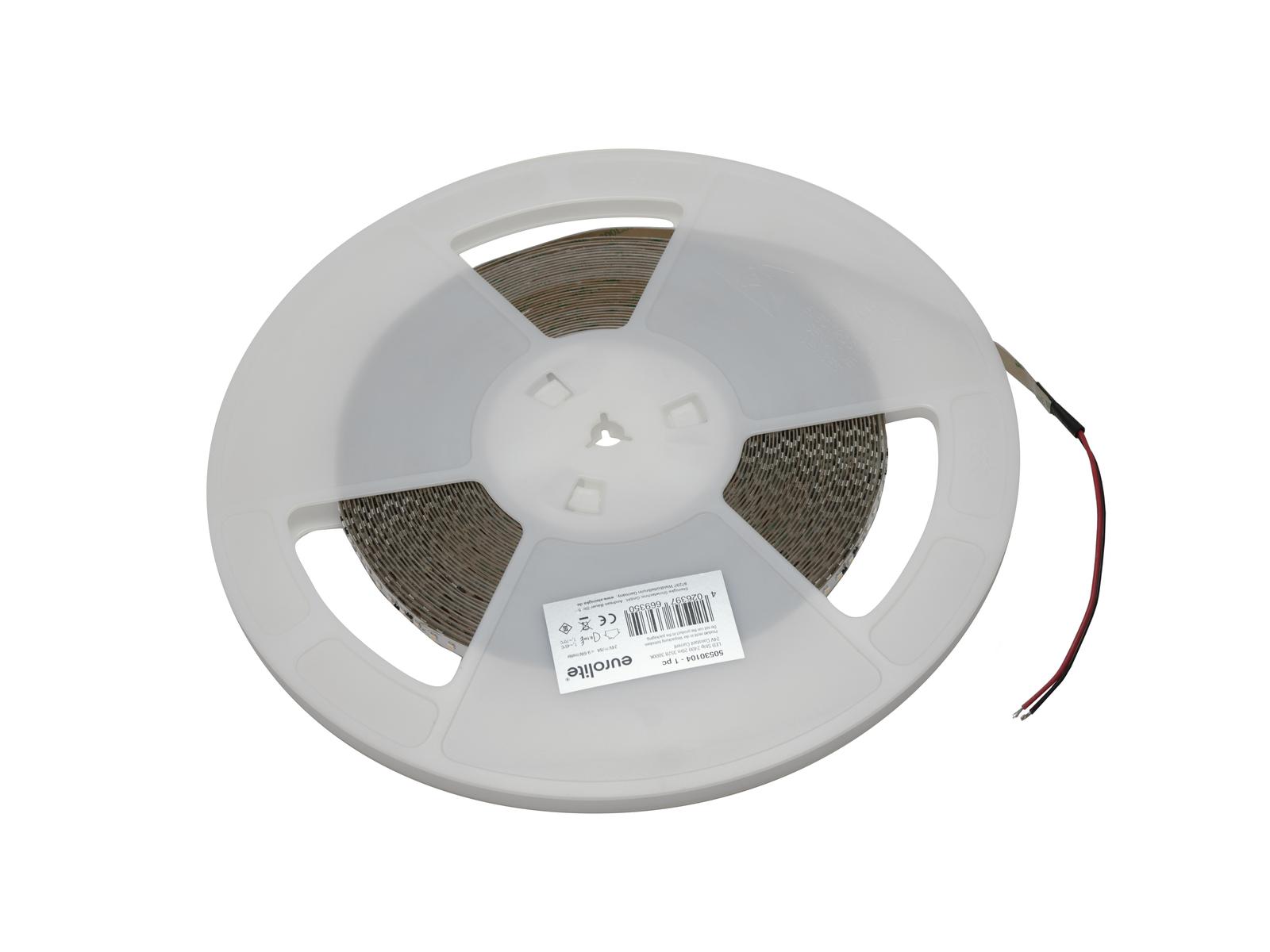 EUROLITE LED Strip 2400 20m 3528 3000K 24V Constant Current