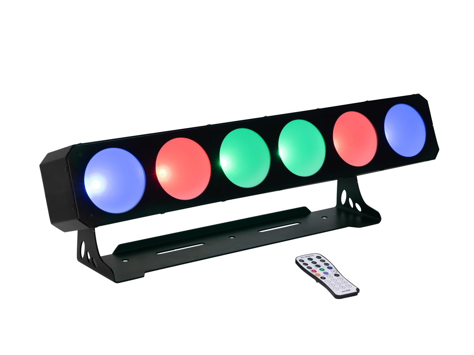 EUROLITE LED CBB-6 COB RGB Bar
