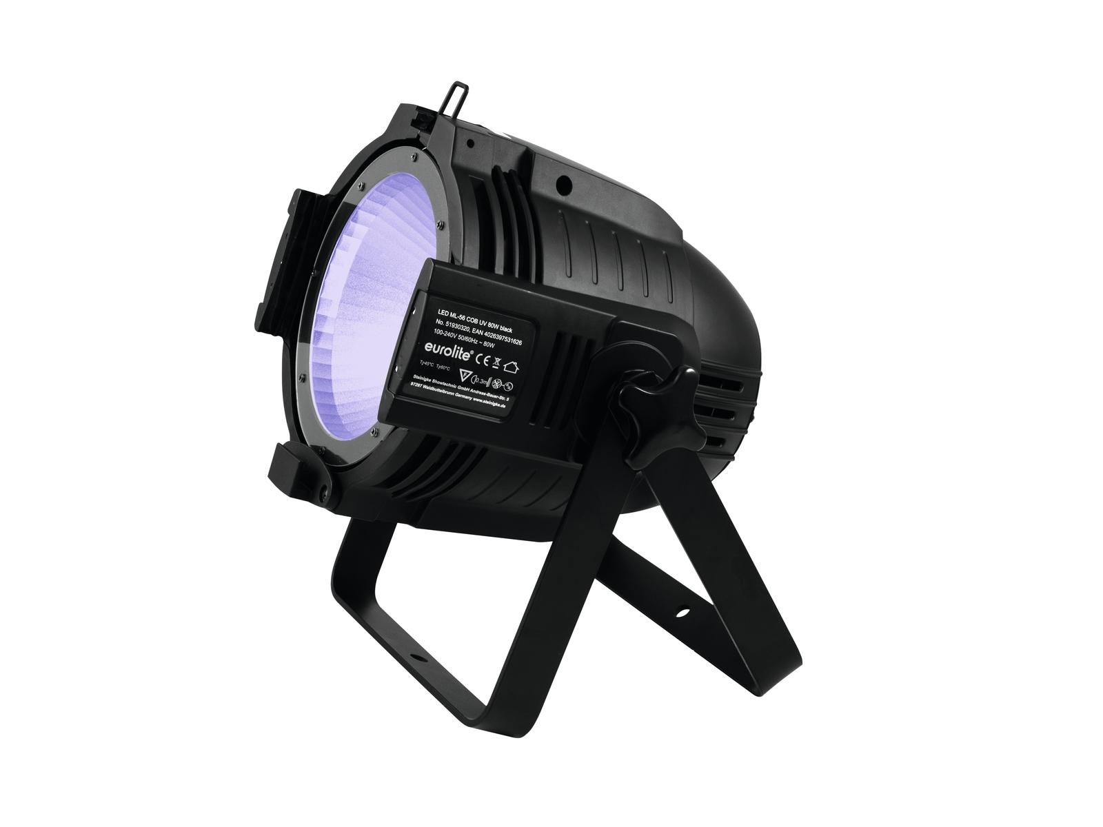 EUROLITE LED ML-56 COB UV 80W Floor sw