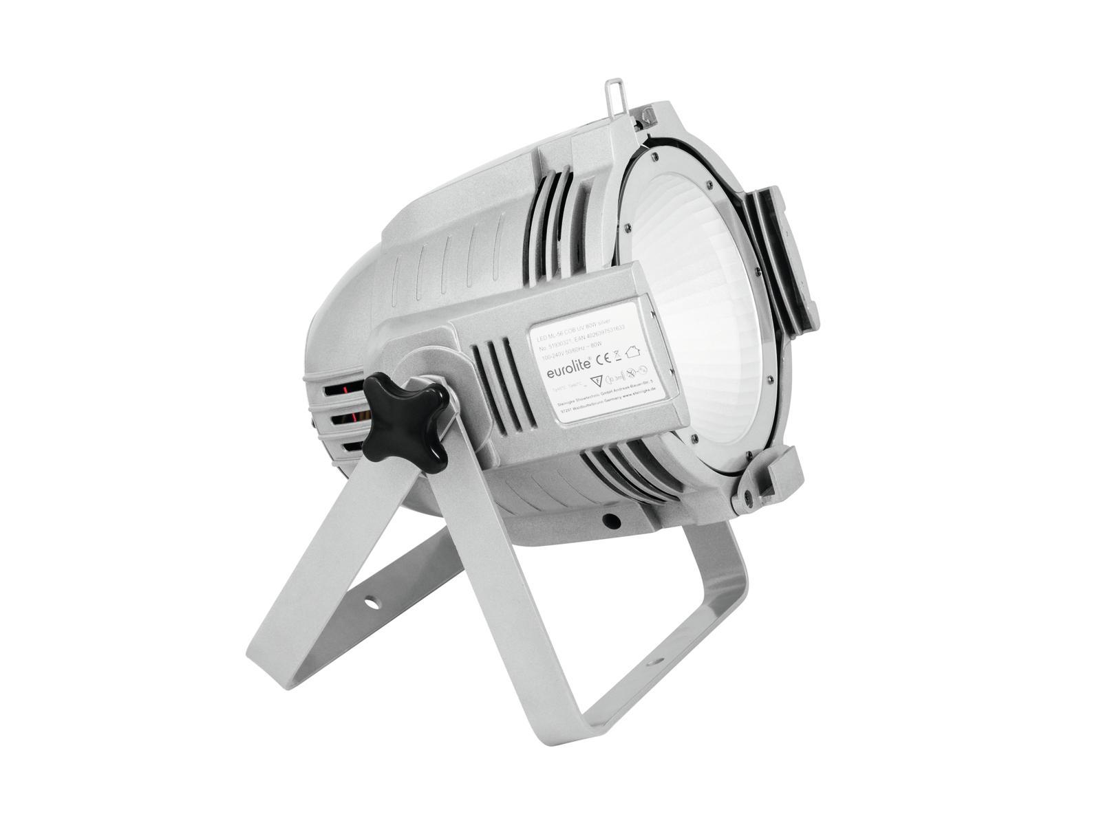 EUROLITE LED ML-56 COB UV 80W Piano sil
