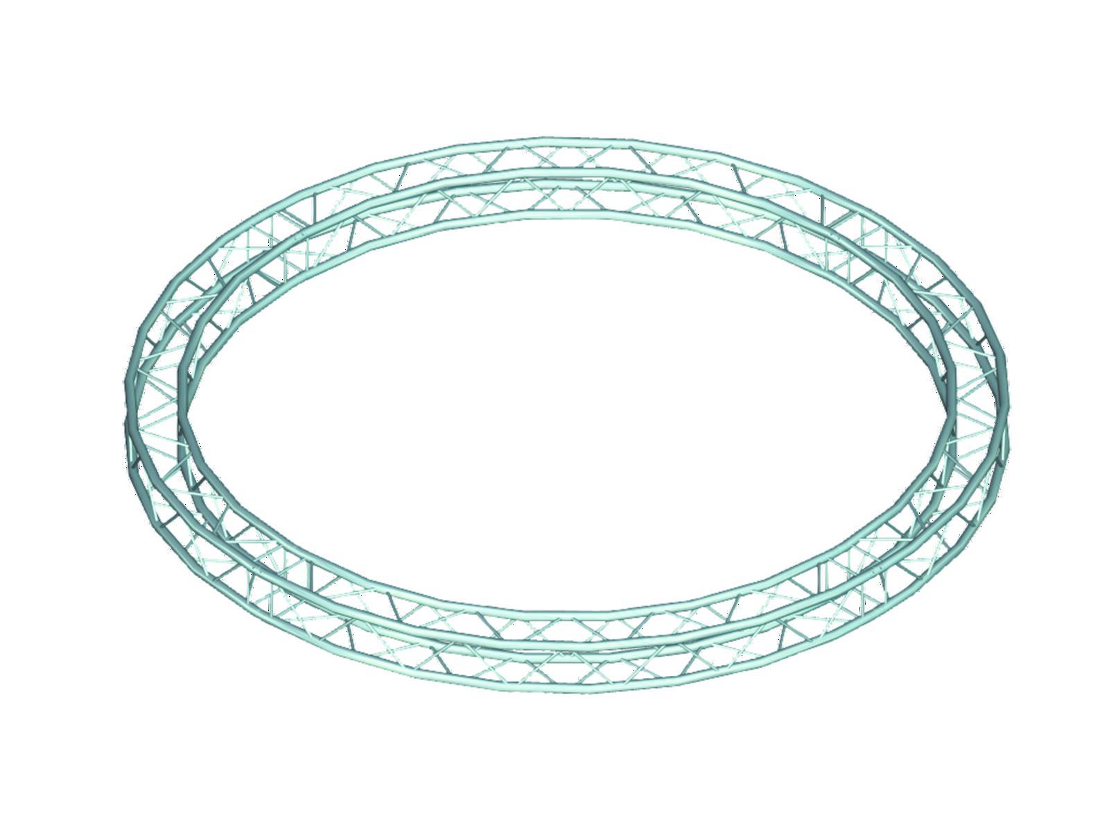 ALUTRUSS DECOLOCK DQ-4 circolo elemento d=3m 90°
