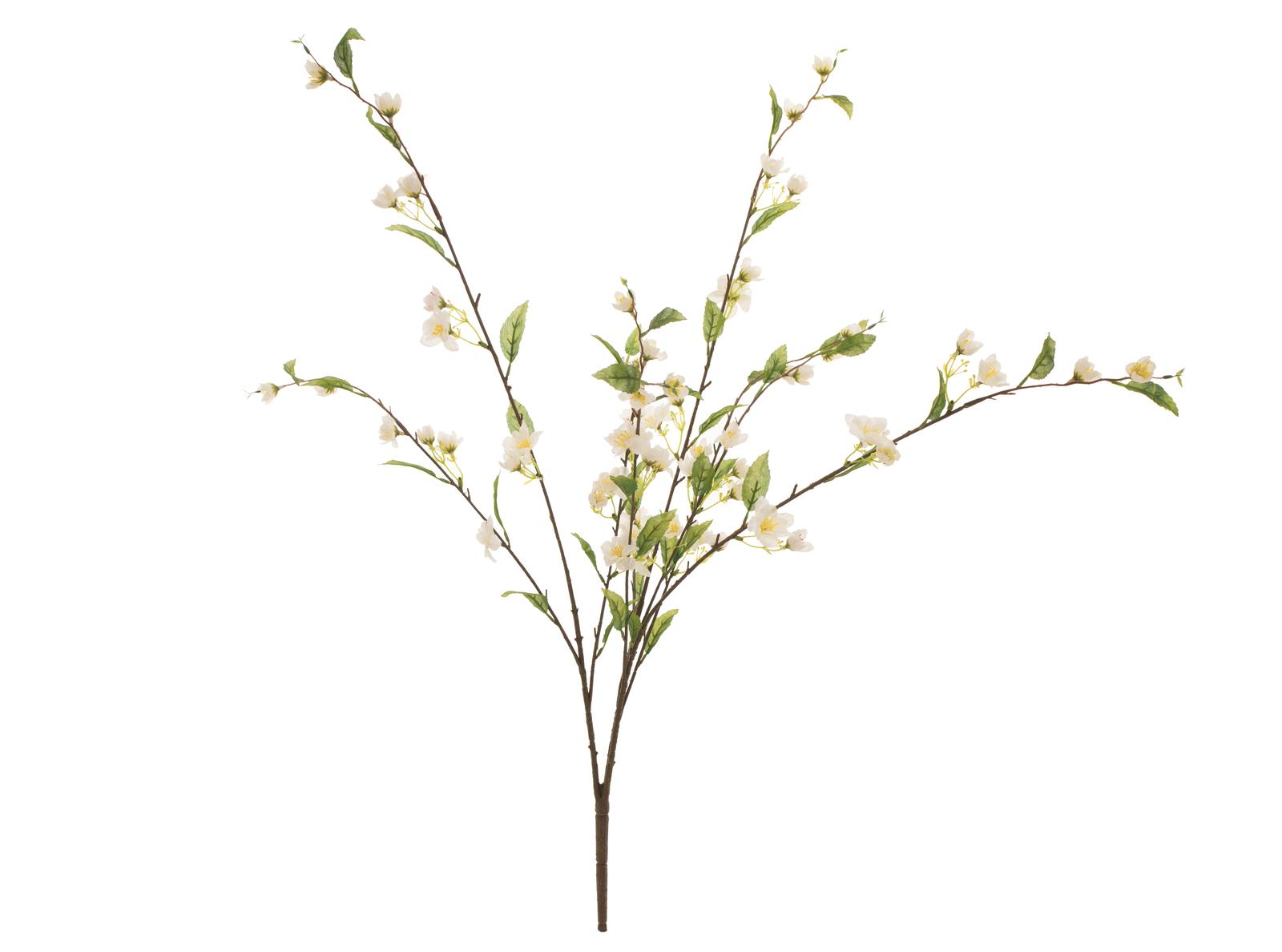 EUROPALMS Kirschzweig, künstlich, weiß, 60cm
