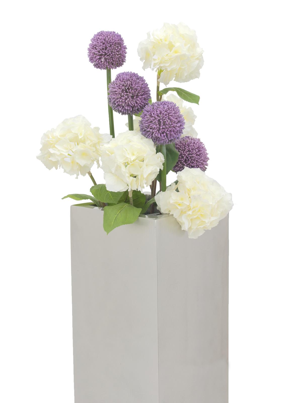 EUROPALMS Allium spray, lavanda, 55cm