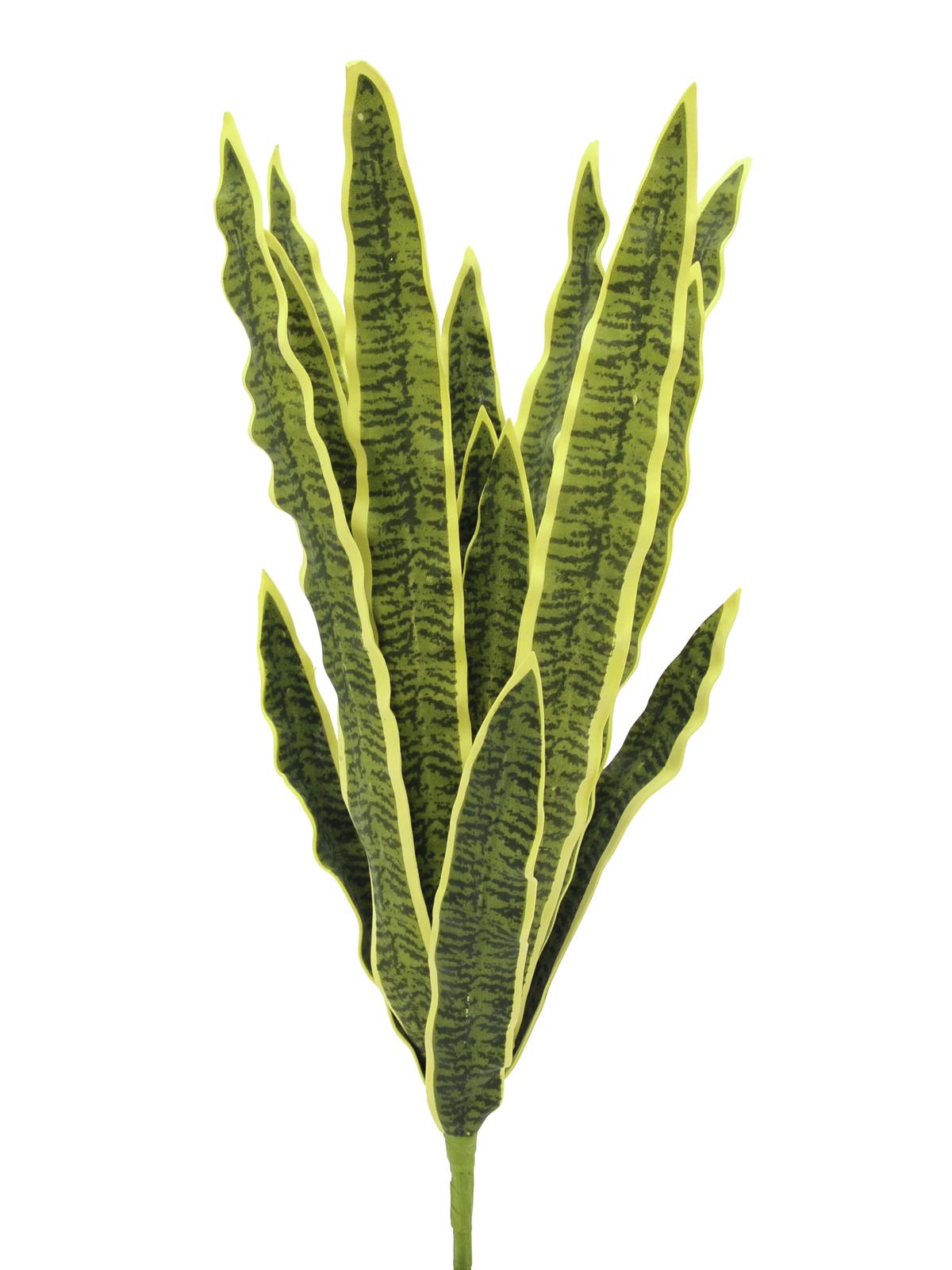 EUROPALMS Sansevieria (EVA), künstlich, grün-gelb, 50cm