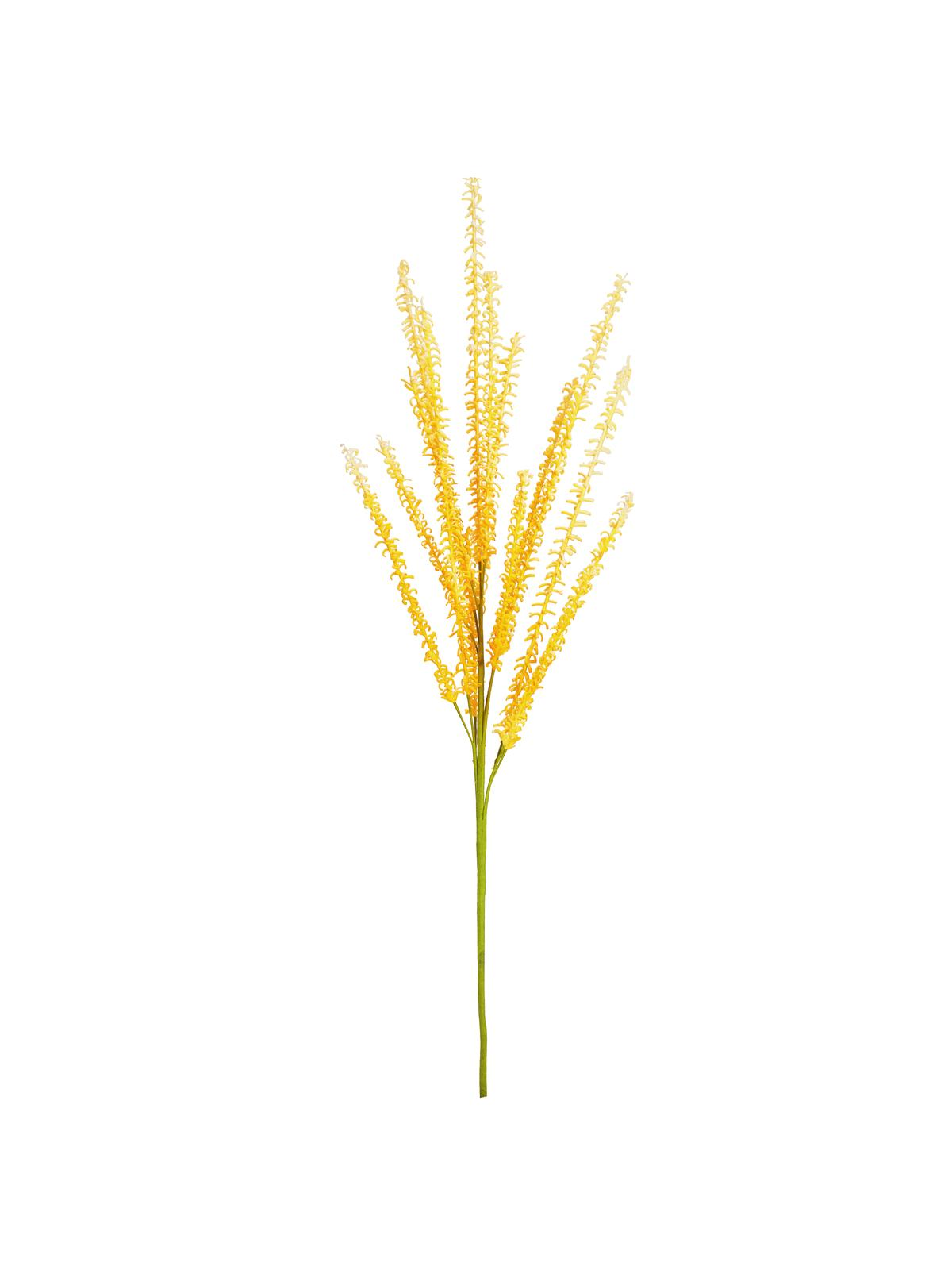 EUROPALMS pianta artificiale RAMO DI MELILOTO (EVA), giallo