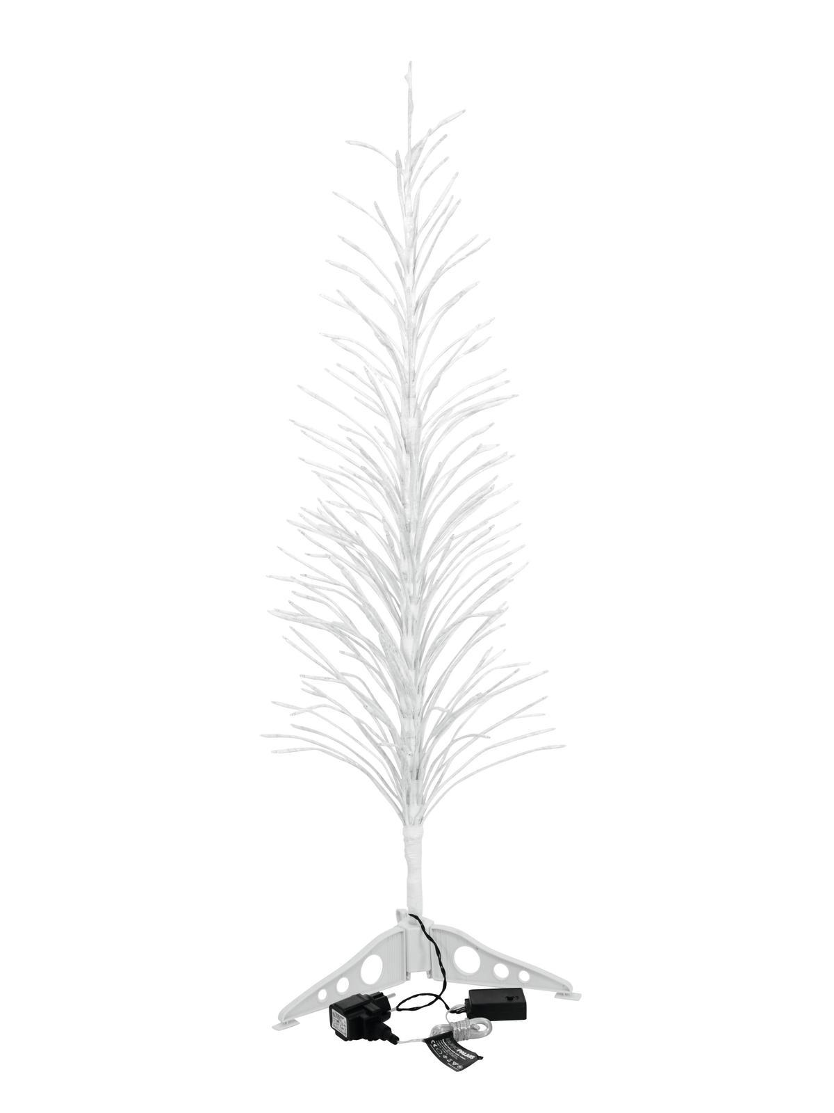 EUROPALMS Design-Baum mit LED cw 120cm