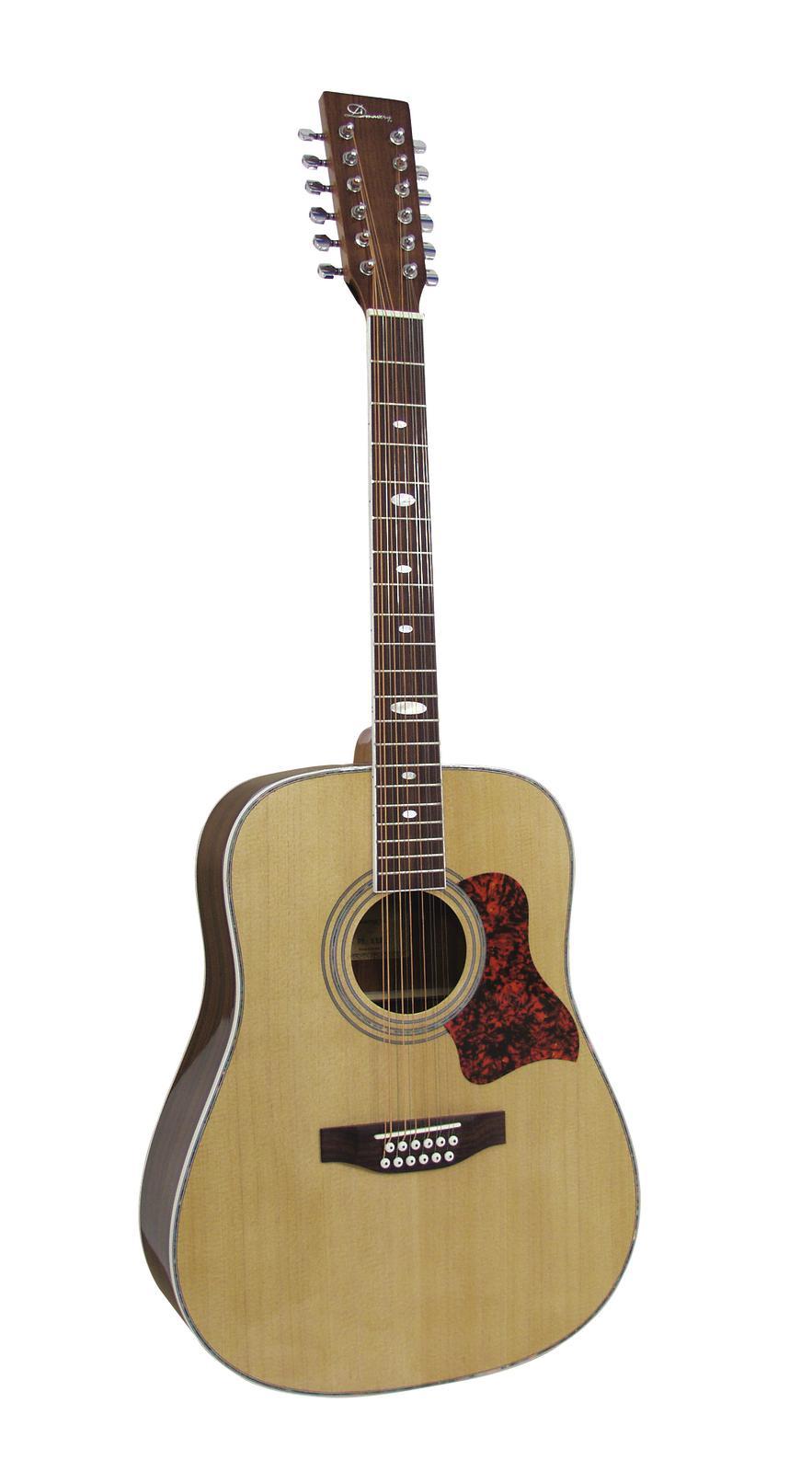 DIMAVERY DR-512 occidentale-chitarra 12 corde