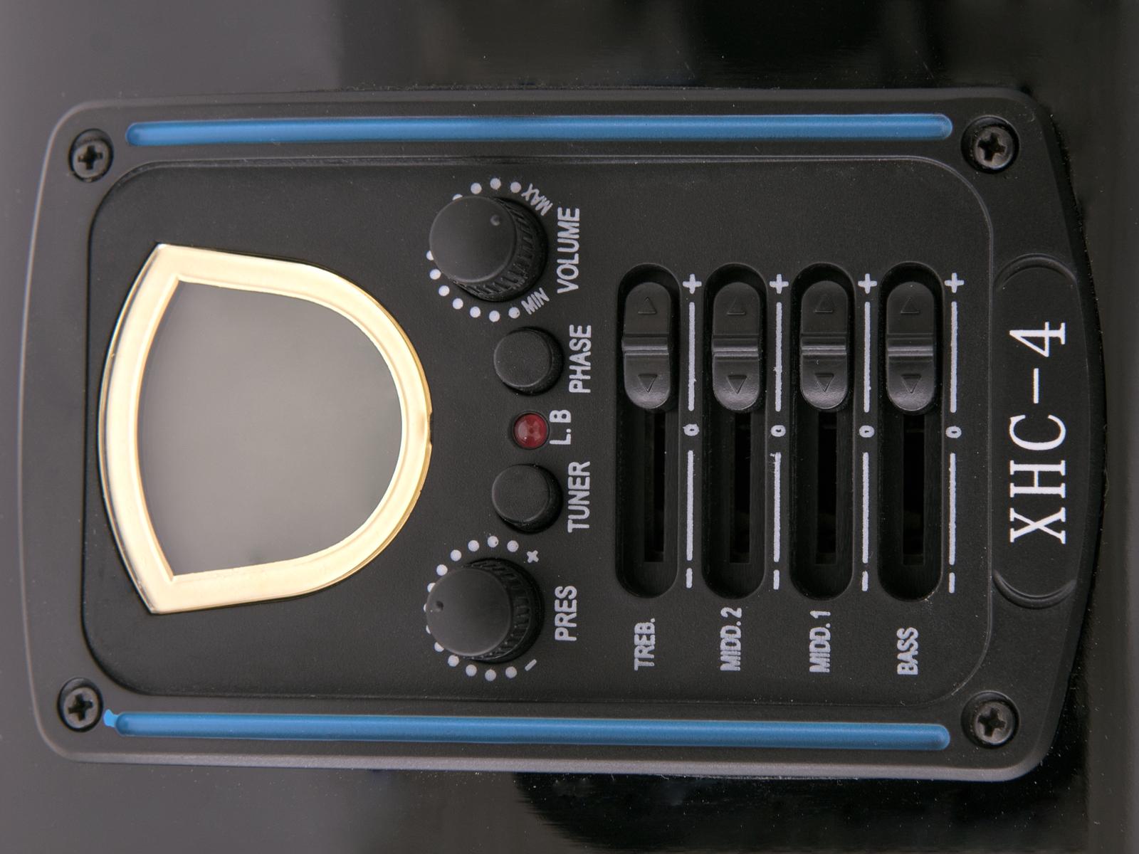 DIMAVERY DR-612 Occidentale, chitarra 12 corde, nero
