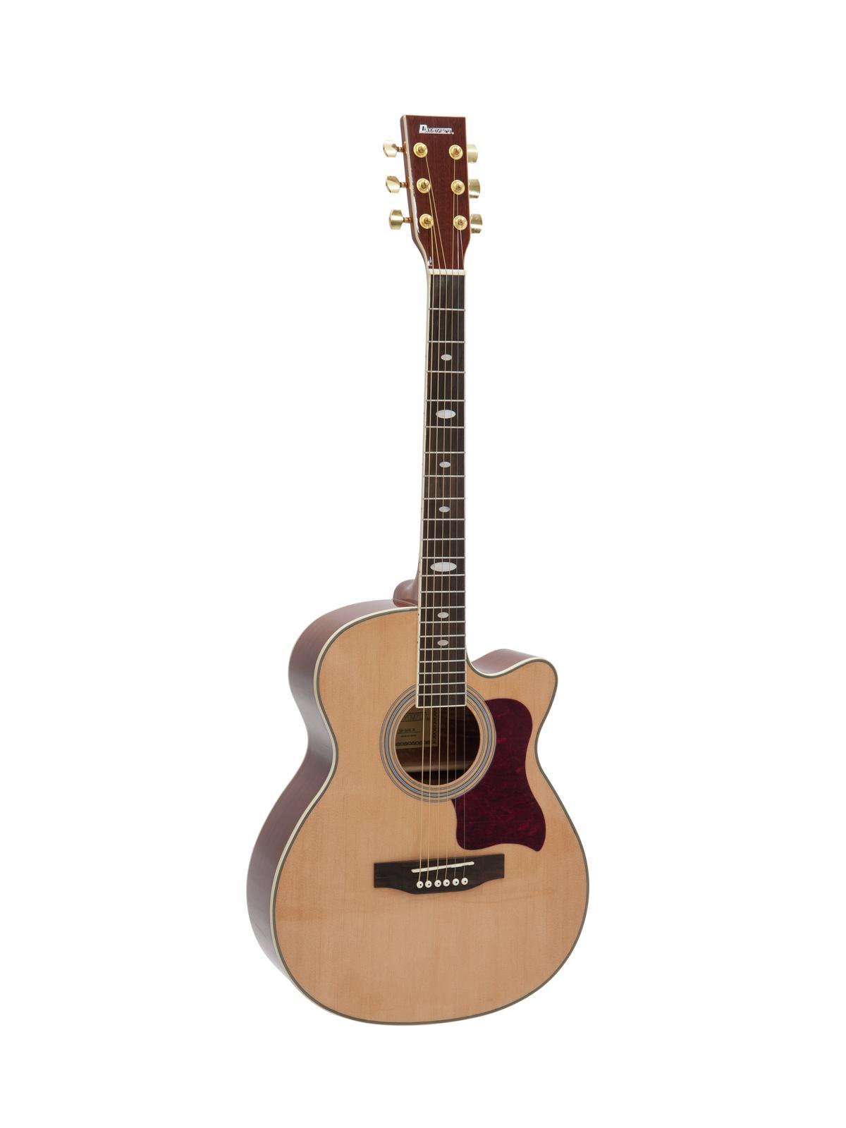 Chitarra acustica, western, colore nature cataway, acero, DIMAVERY JH-500