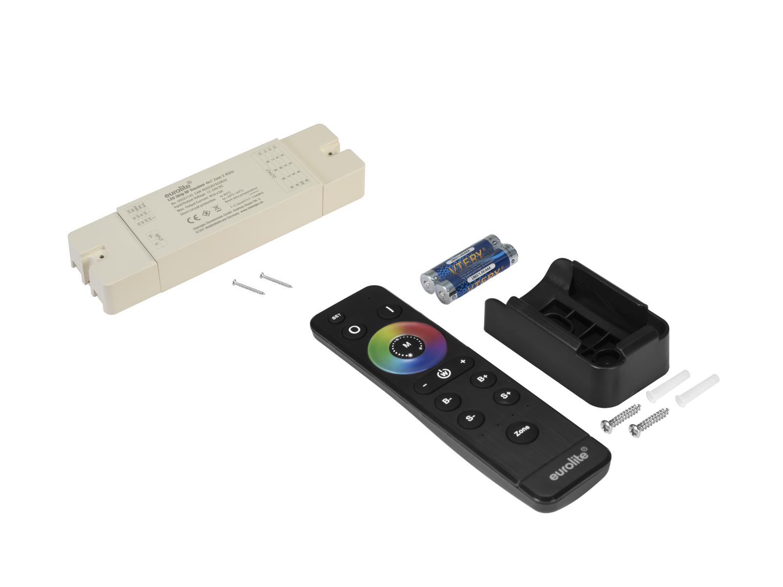 EUROLITE LED Strip 4in1 Zona Controller RF