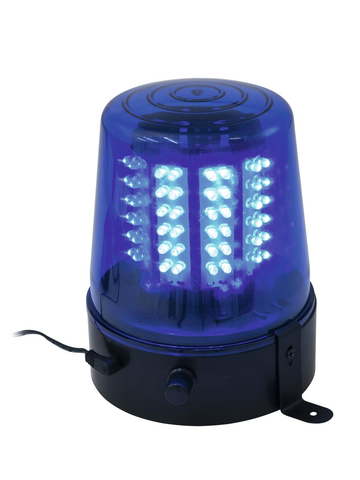 EUROLITE LED di Polizia di Luce 108 Led blu Classico
