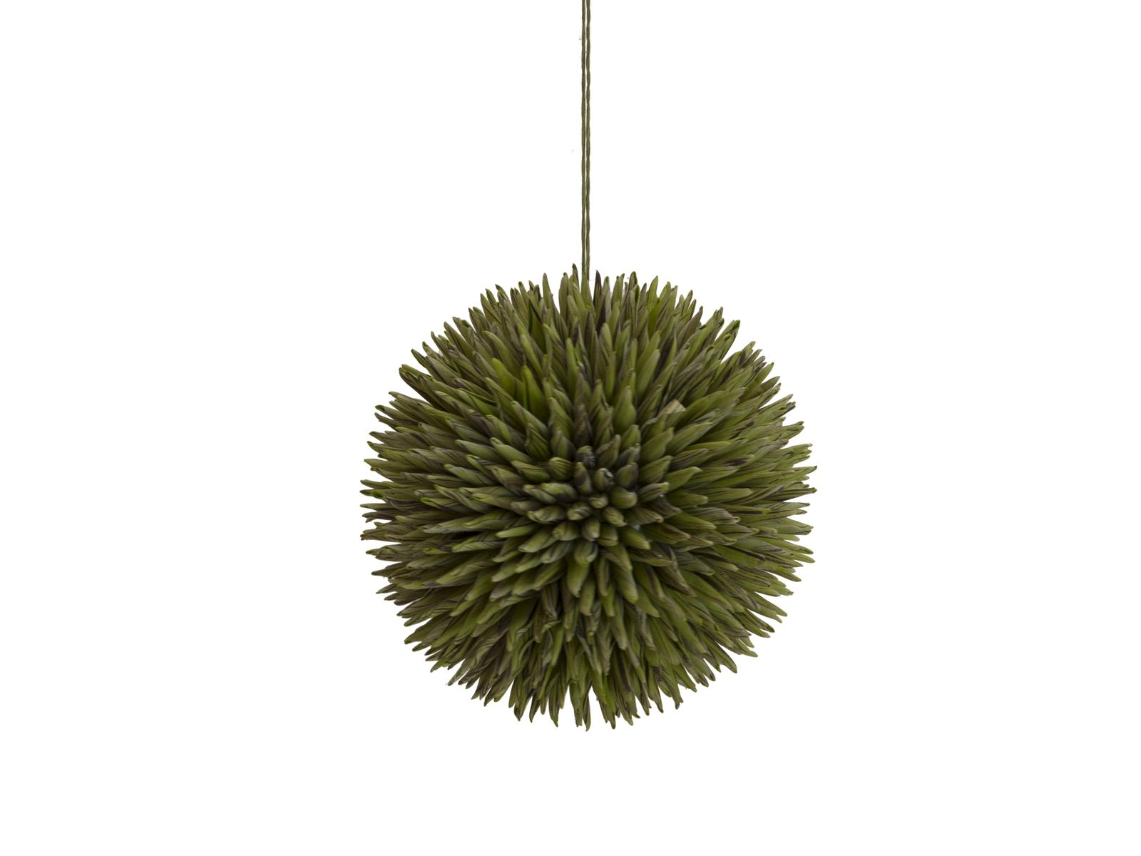 EUROPALMS Sukkulenten Kugel (EVA), Kunstpflanze, grün, 20cm
