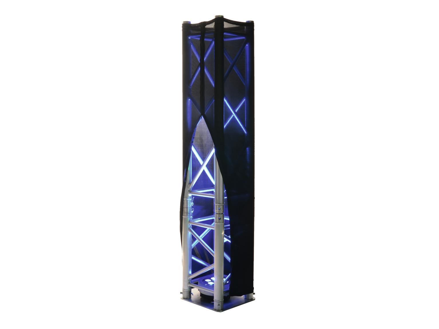 ESPANDERE XPTC10RVS Capriata di copertura 100cm nero