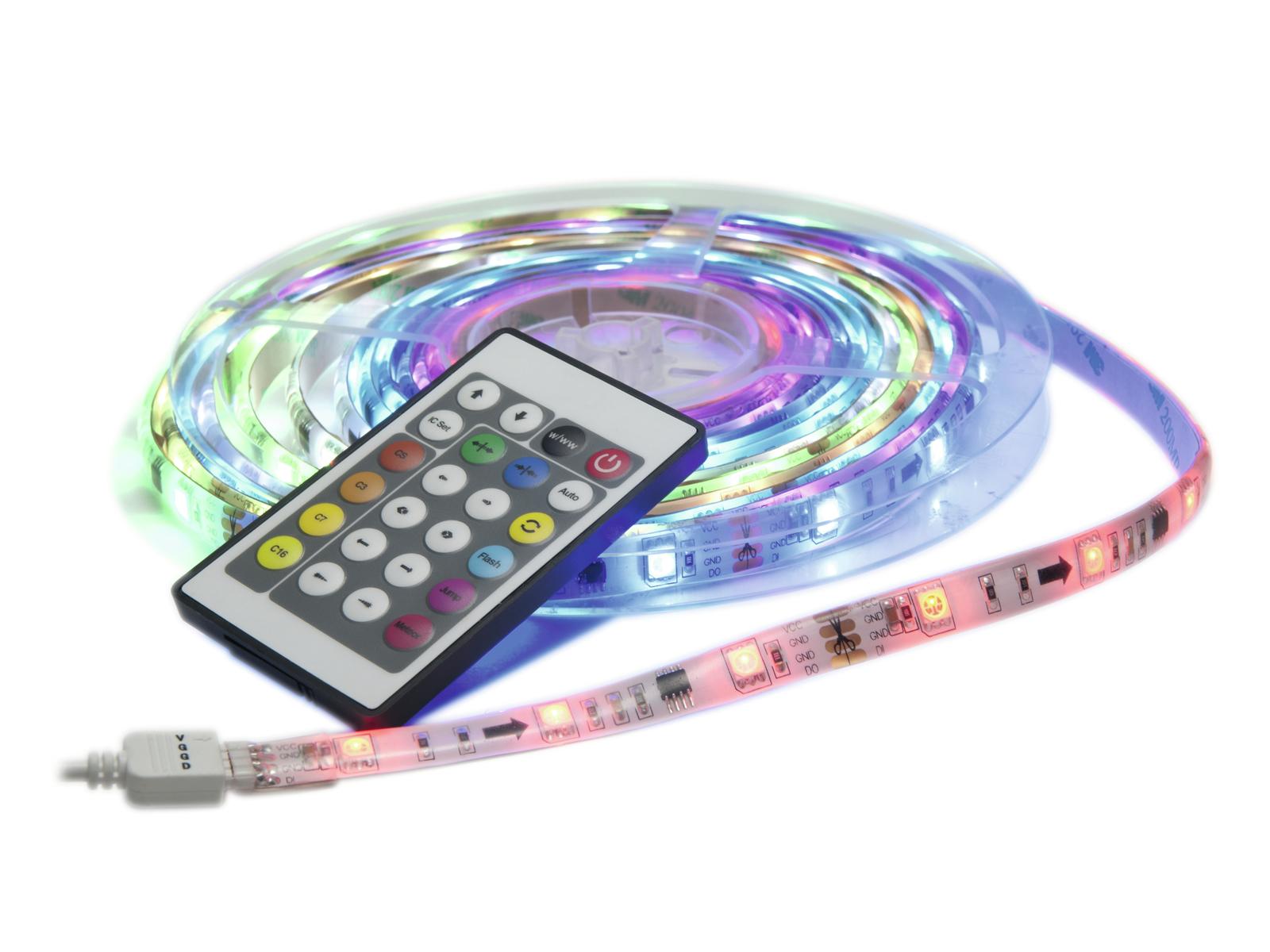 EUROLITE LED IP Striscia Set Deluxe 5m RGB