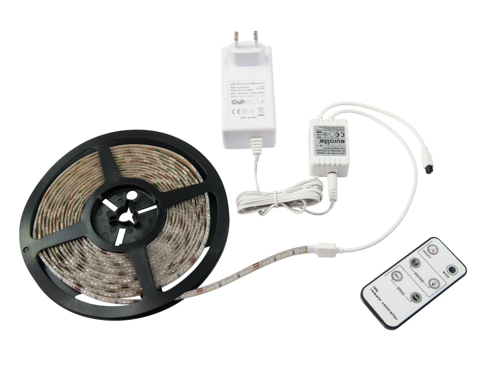 EUROLITE LED IP Striscia 600 CW/WW