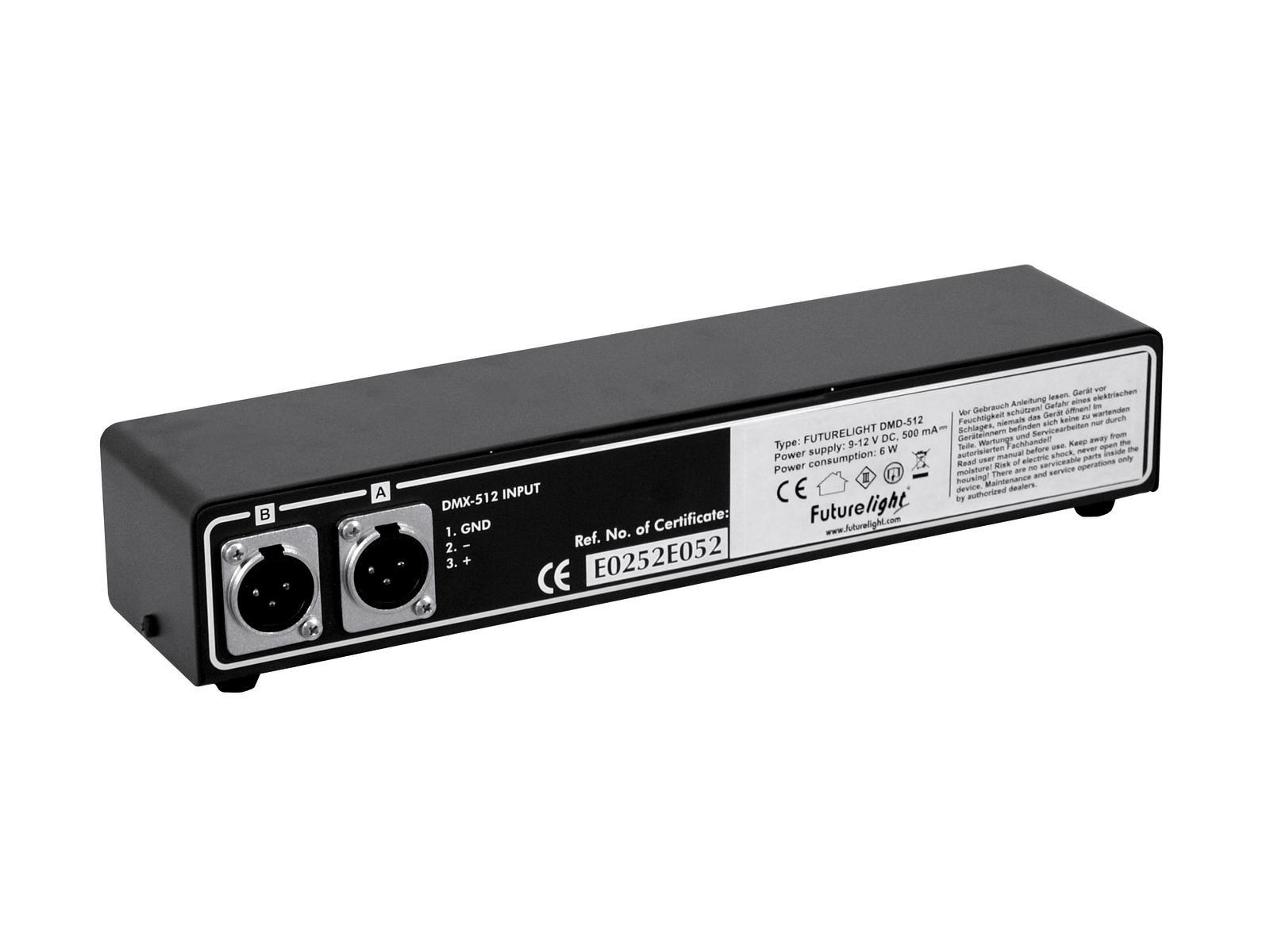 FUTURELIGHT DMD-512 DMX Monitortreiber