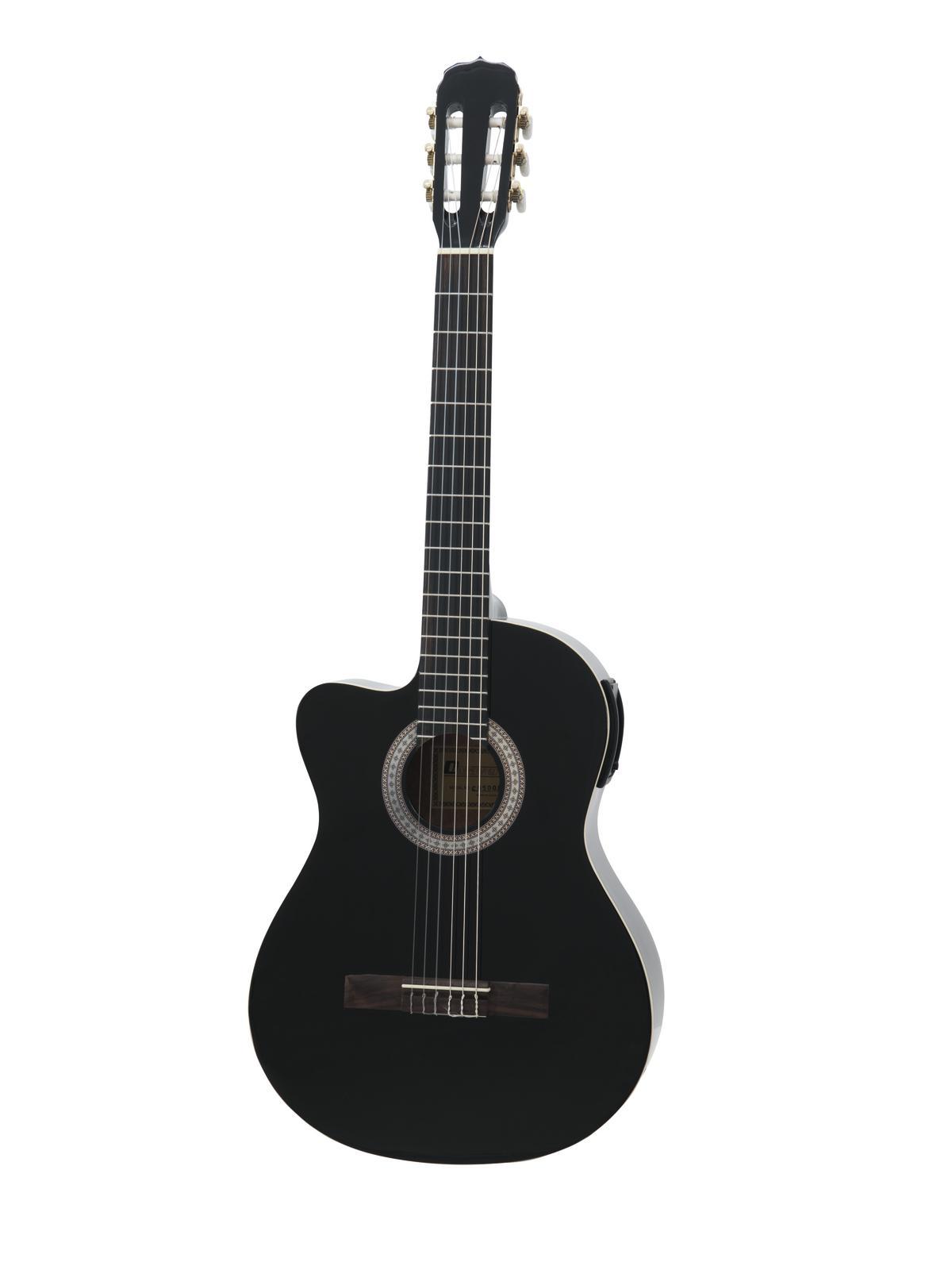 DIMAVERY CN-500L chitarra classica, nero
