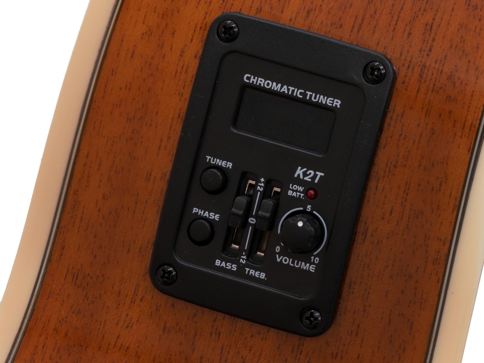 DIMAVERY AW-400 Occidentale chitarra, sunburst