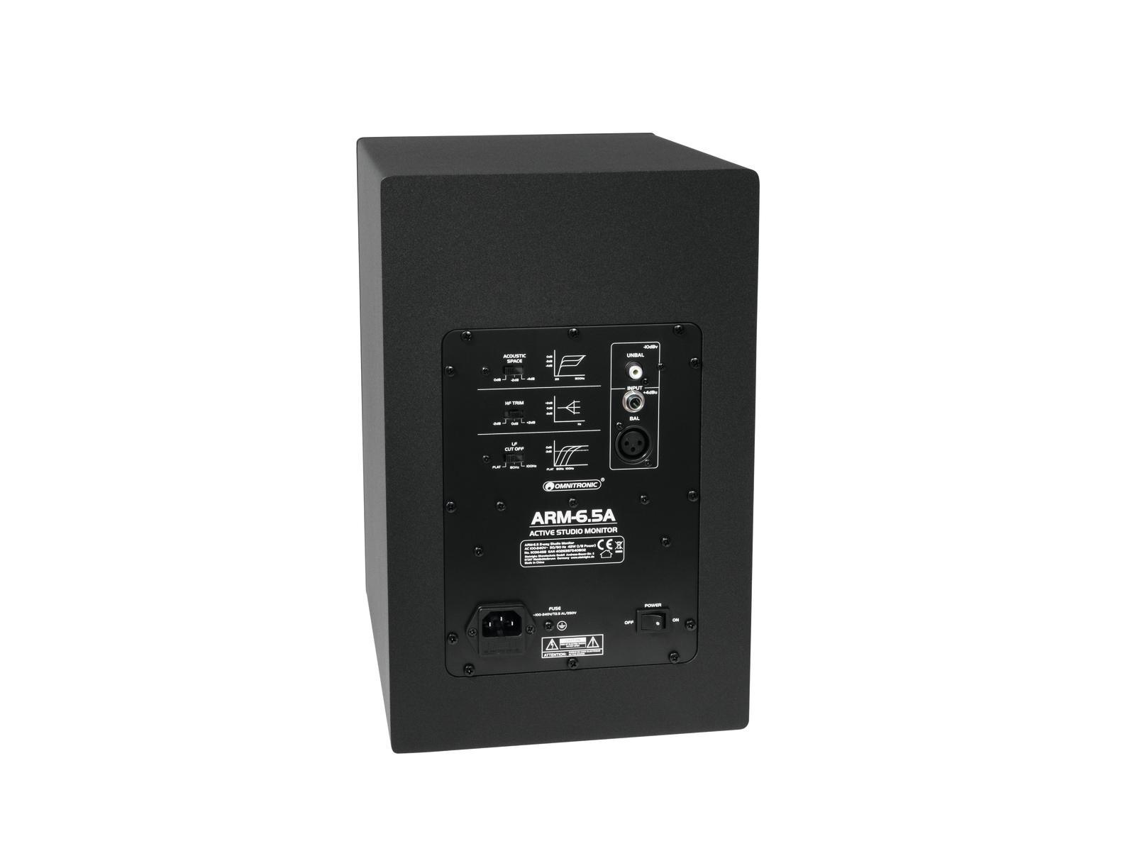 OMNITRONIC ARM-6.5 2-Wege-Studio-Monitor