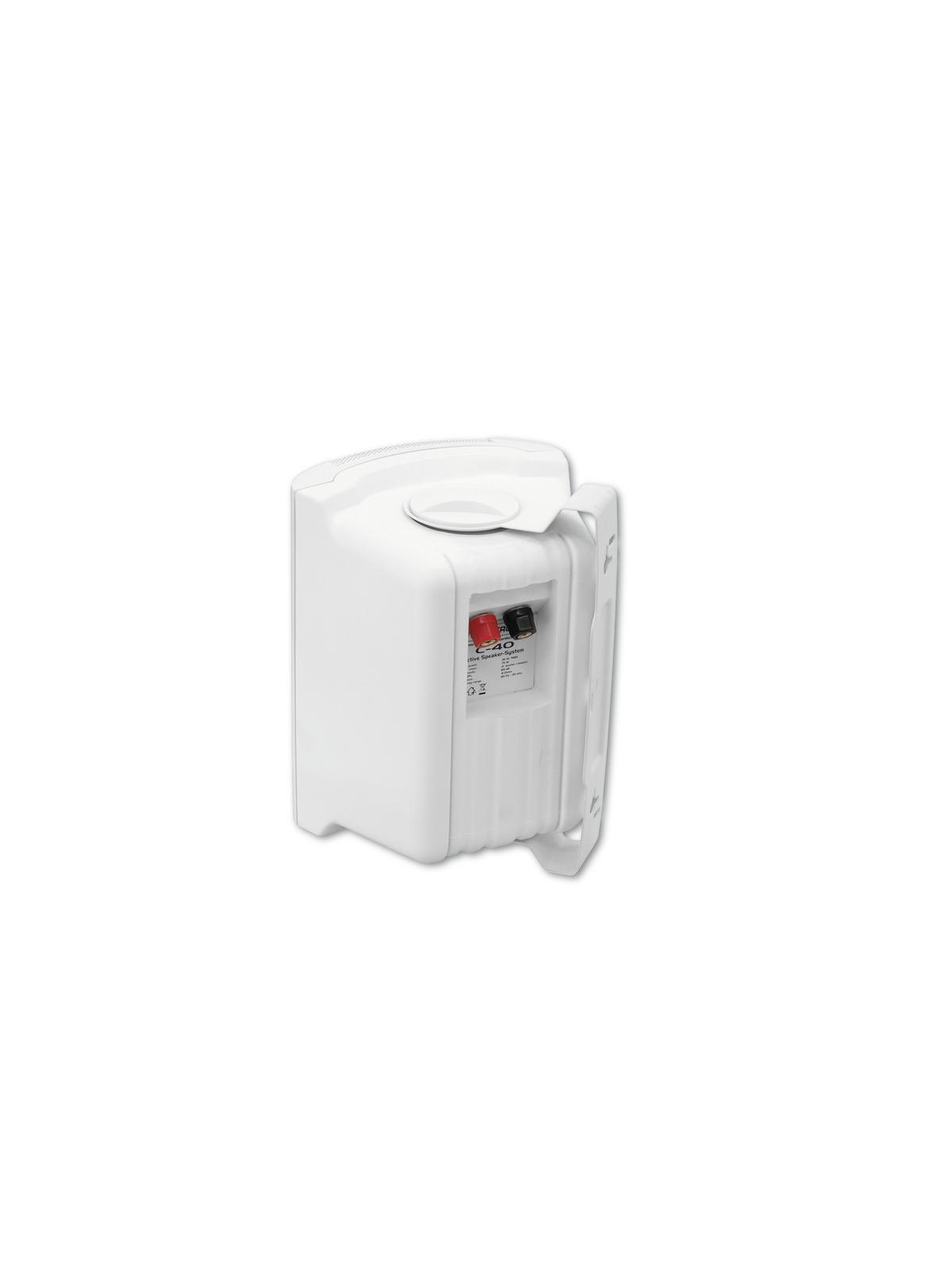 OMNITRONIC C-40 weiß 2x