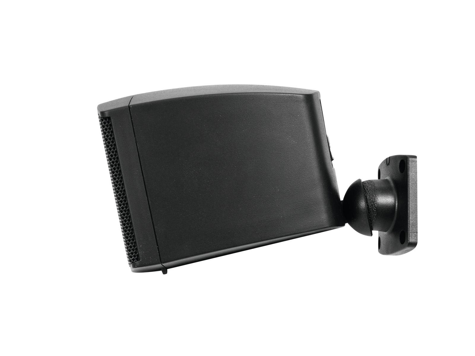 OMNITRONIC OD-2 Wandlautsprecher 8Ohm schwarz 2x