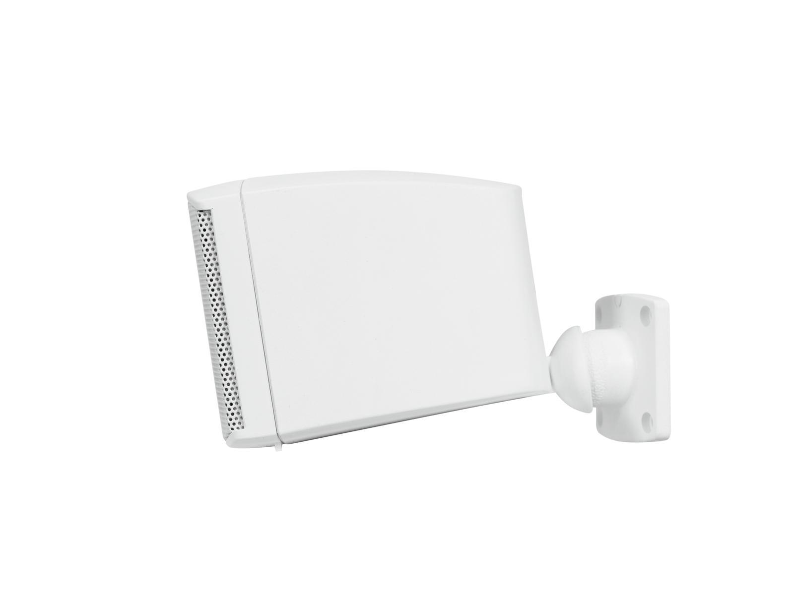 OMNITRONIC OD-2 Wandlautsprecher 8Ohm weiß 2x