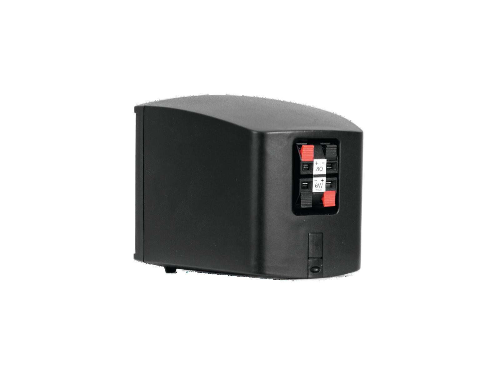 OMNITRONIC OD-2T Wandlautsprecher 100V schwarz 2x