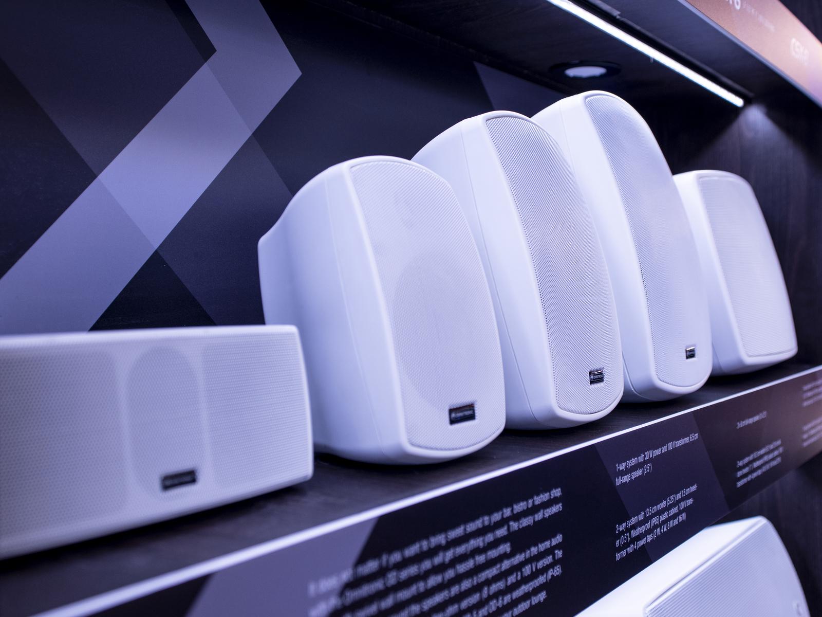 OMNITRONIC OD-2T Wandlautsprecher 100V weiß 2x