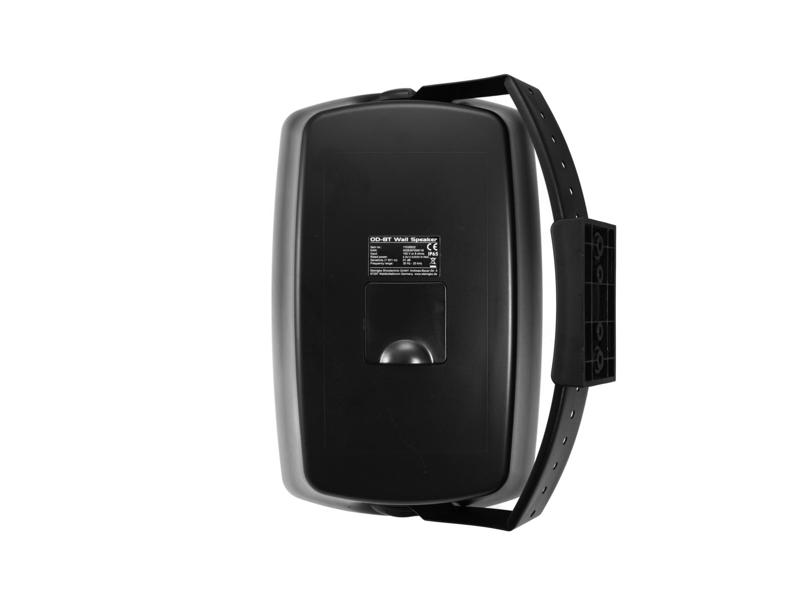 OMNITRONIC OD-8T Wandlautsprecher 100V schwarz 2x