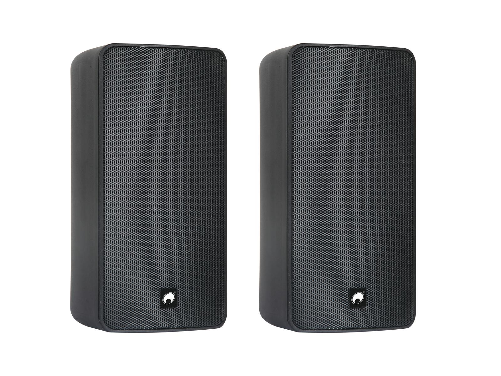 OMNITRONIC ODP-206T Installationslautsprecher 100V schwarz 2x