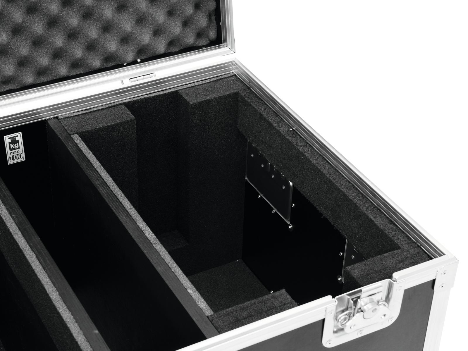 ROADINGER Flightcase 2x Onda