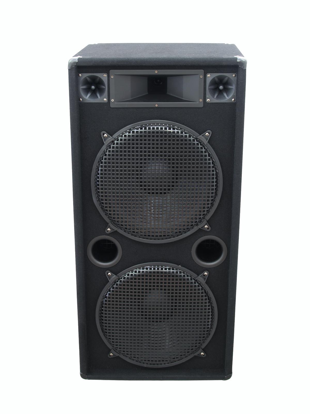 OMNITRONIC DX-2522 3-Wege Box 1200 W