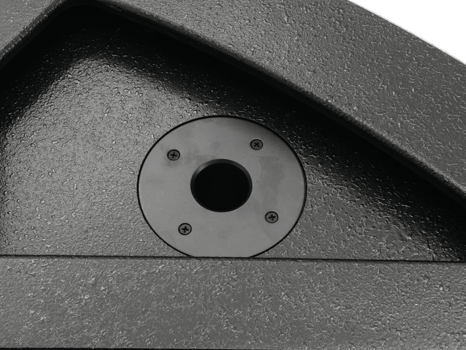 OMNITRONIC KM-112A Aktiv-Bühnenmonitor, koaxial