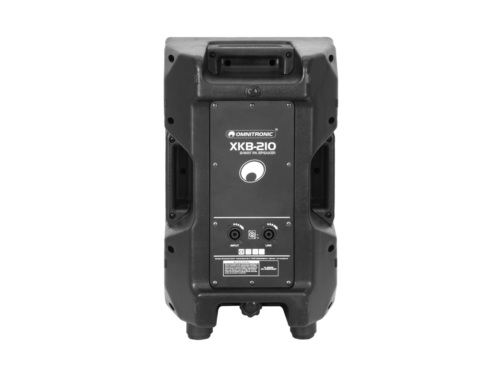 OMNITRONIC XKB-210 2-Wege Lautsprecher