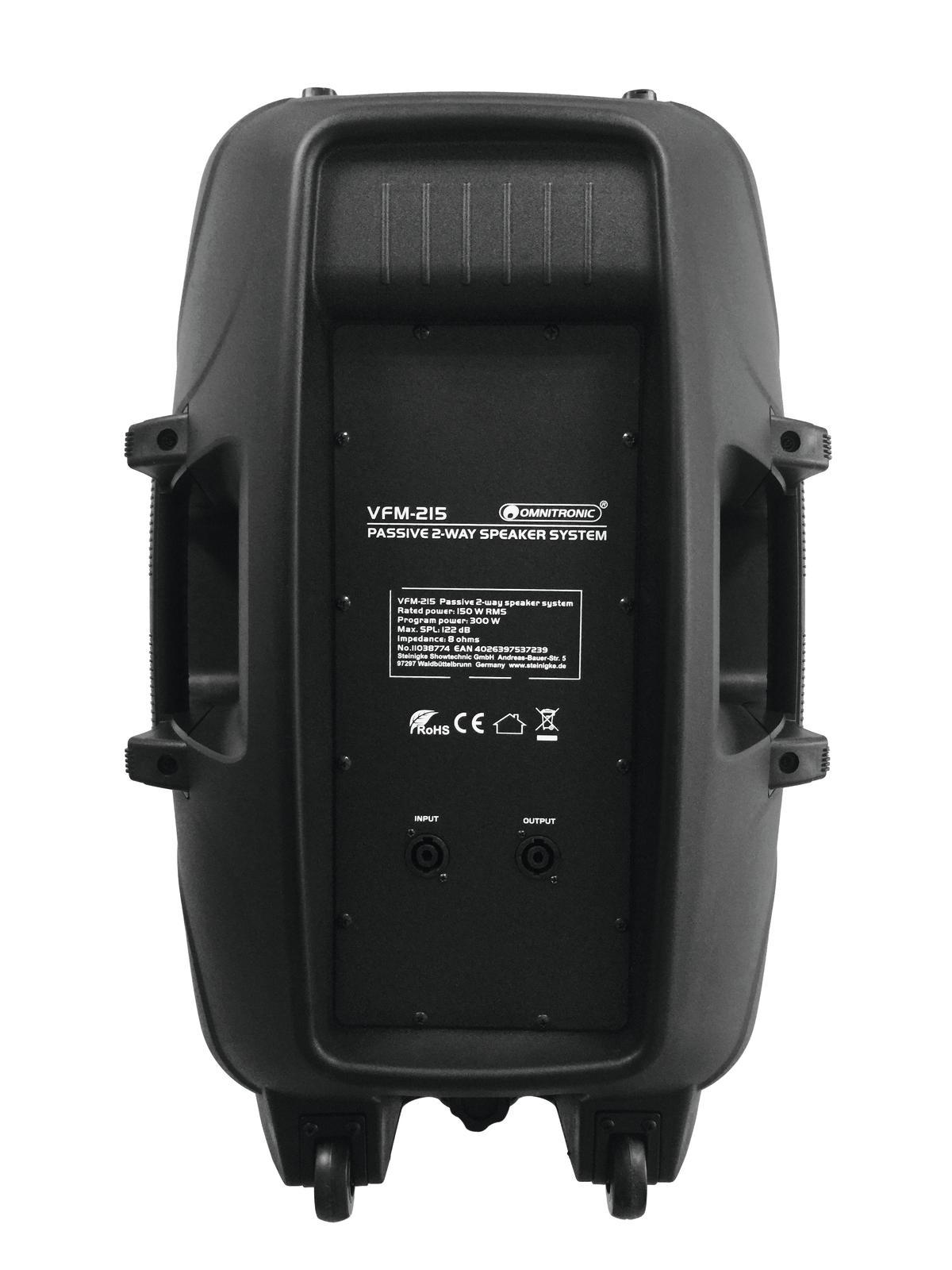 OMNITRONIC VFM-215 2-Wege Lautsprecher