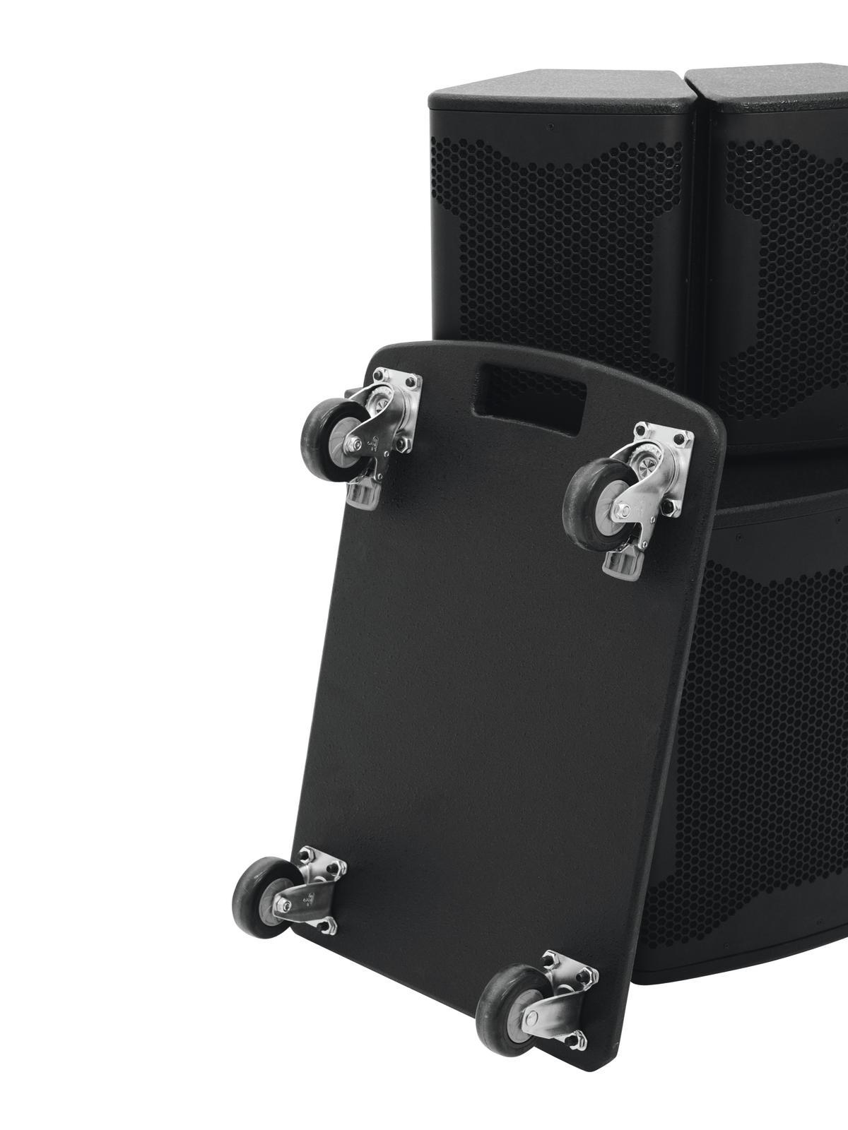 OMNITRONIC Rollbrett für AS-500 Aktiv-System