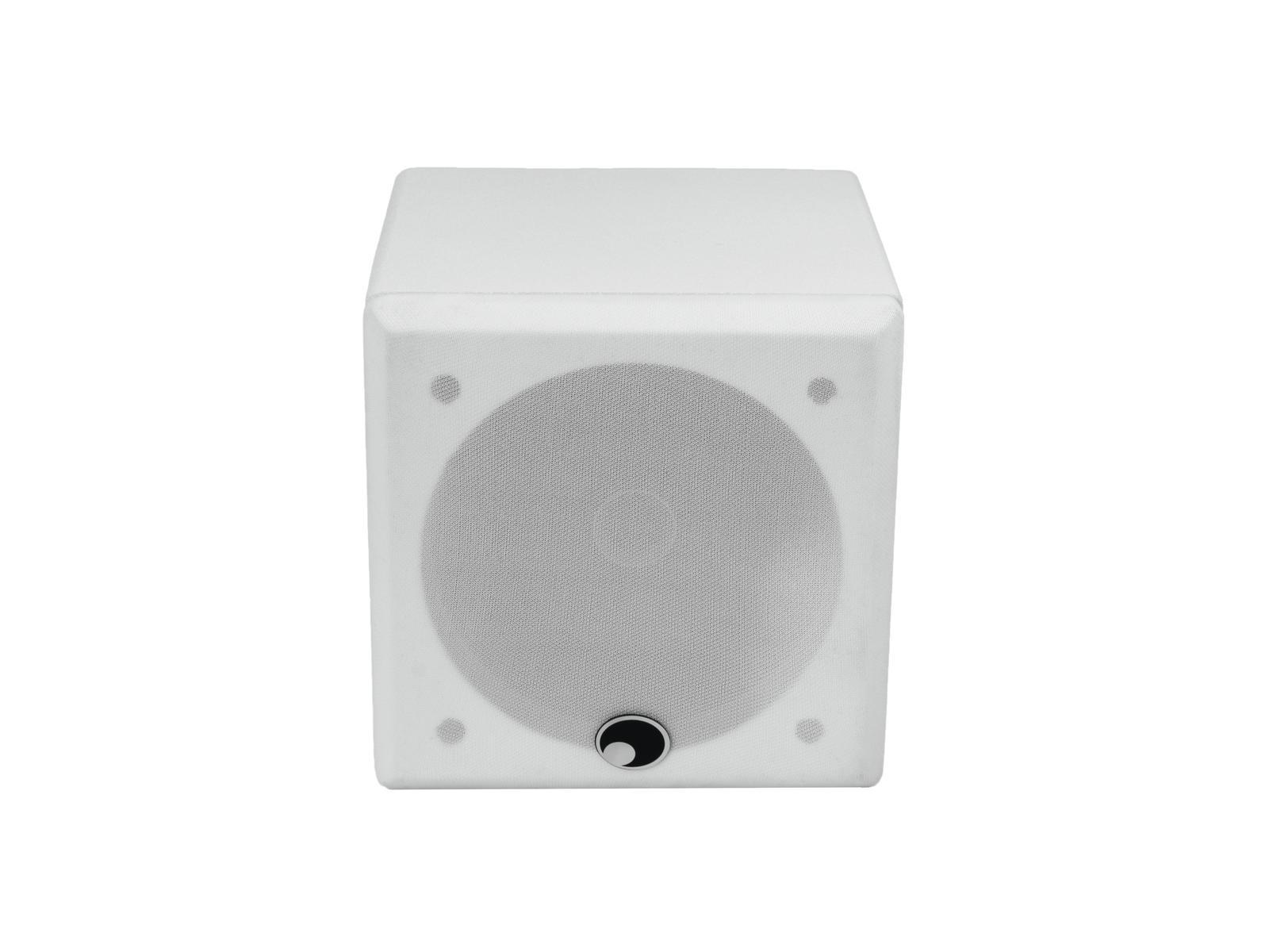 OMNITRONIC QI-5 Koaxial-Wandlautsprecher weiß