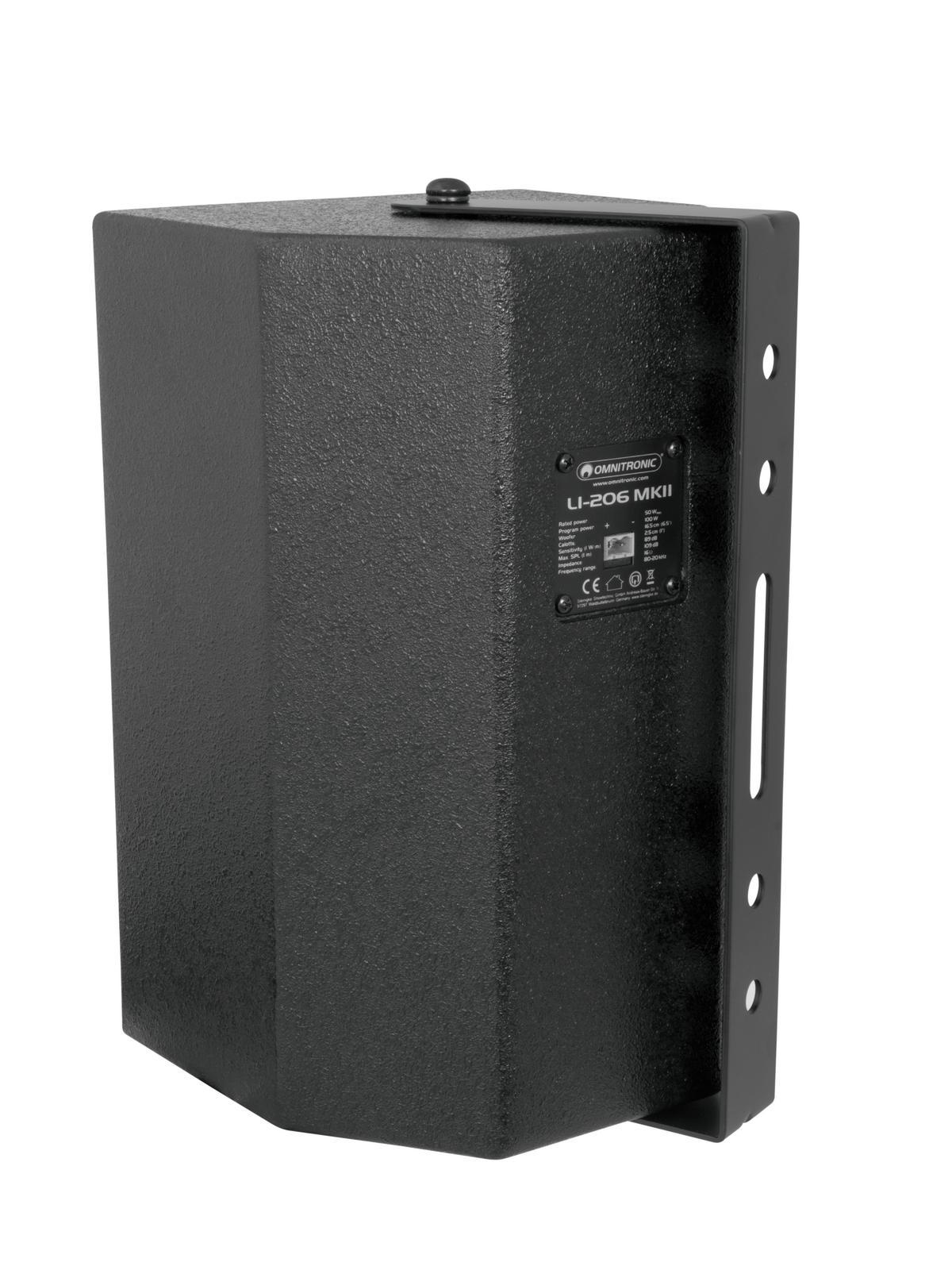 OMNITRONIC LI-206B MK2 2-Wege-Top