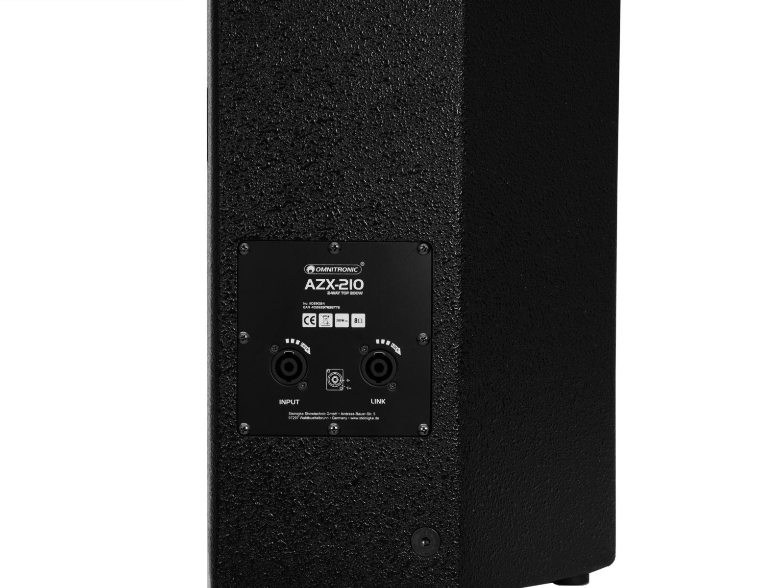 OMNITRONIC AZX-210 2-Wege Top 200W