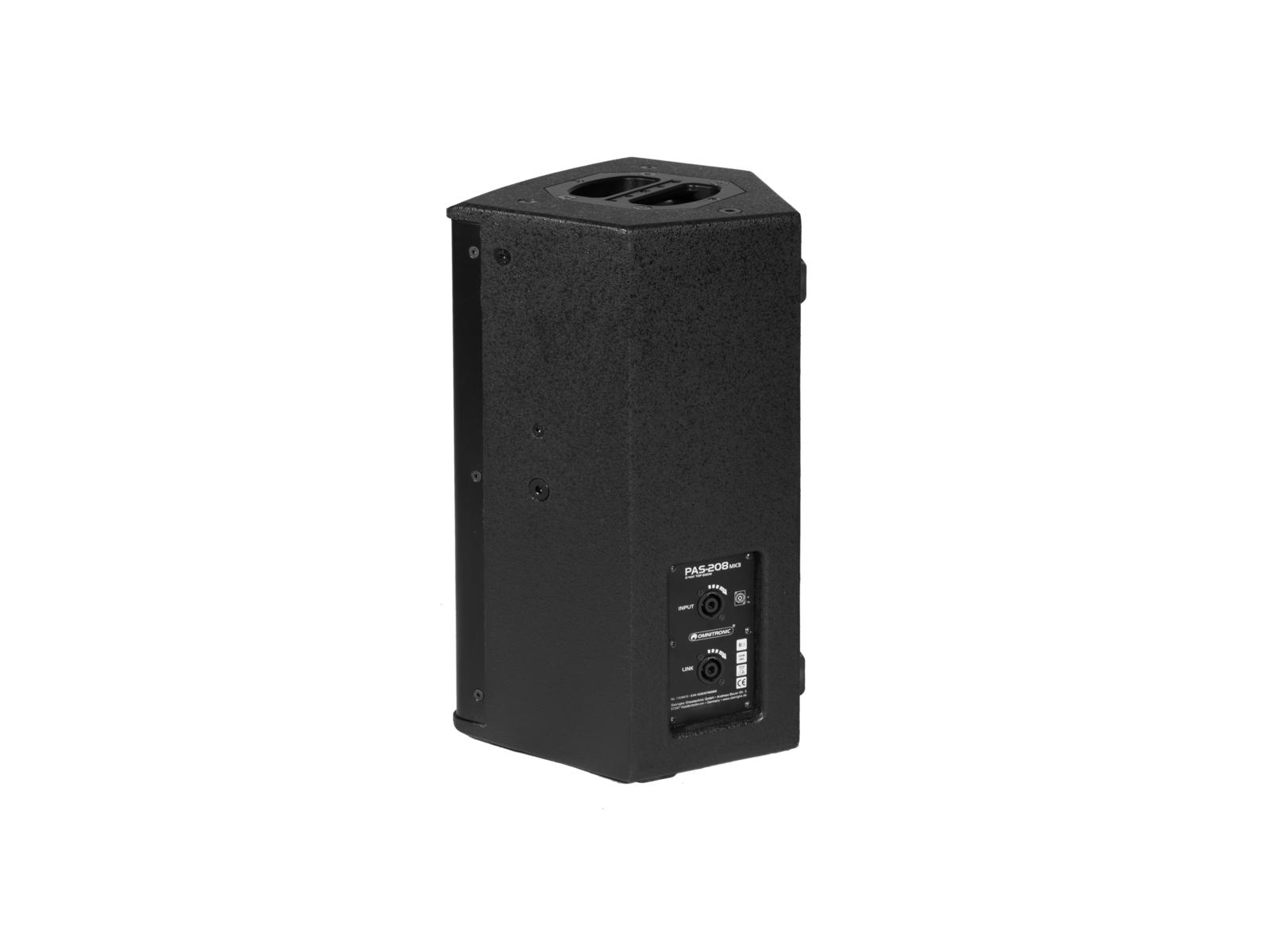 OMNITRONIC PAS-208 MK3 2-Wege-Top