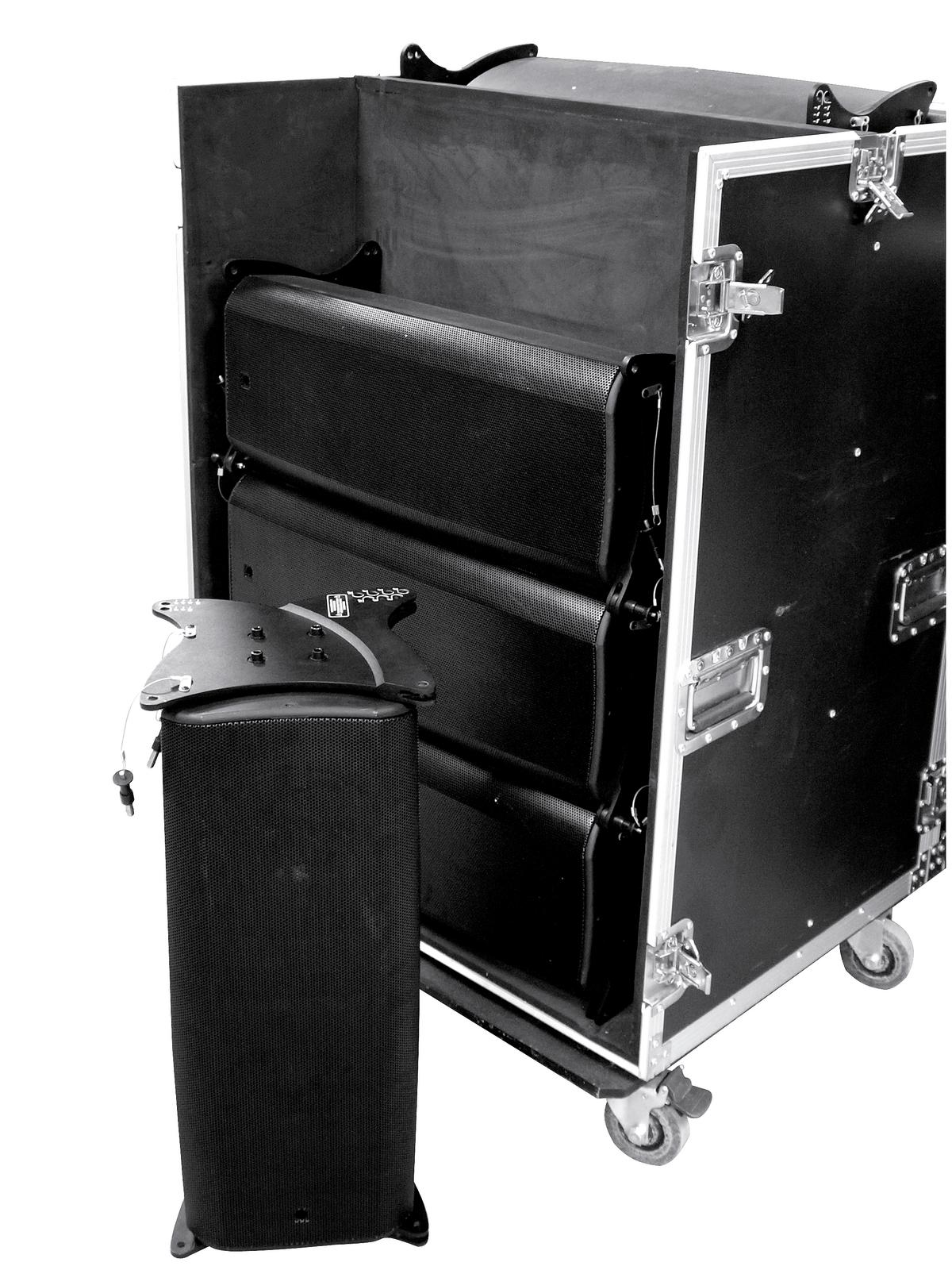 ROADINGER Flightcase 8x CLA-228