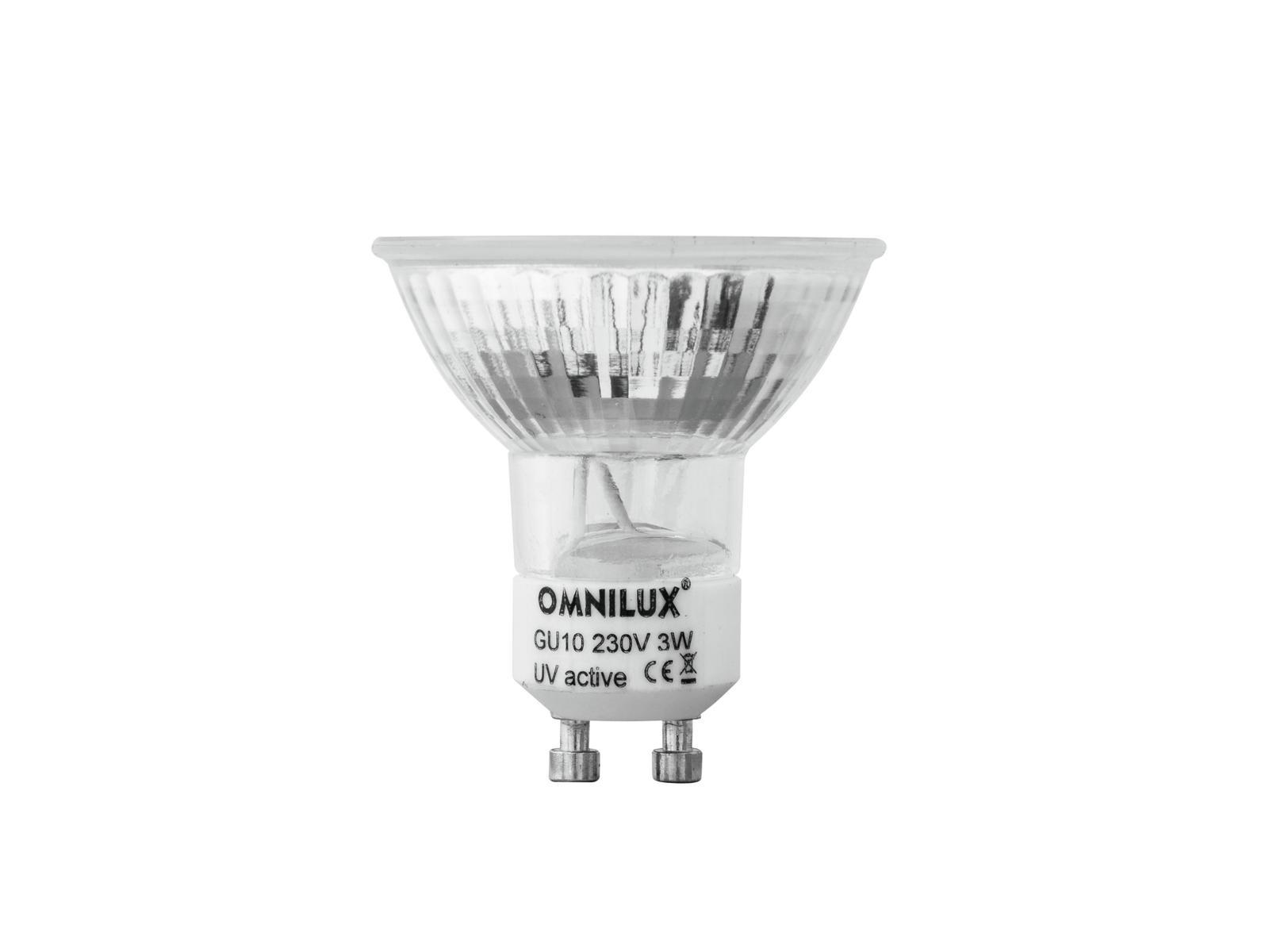 OMNILUX GU-10 230V 60 LED UV active