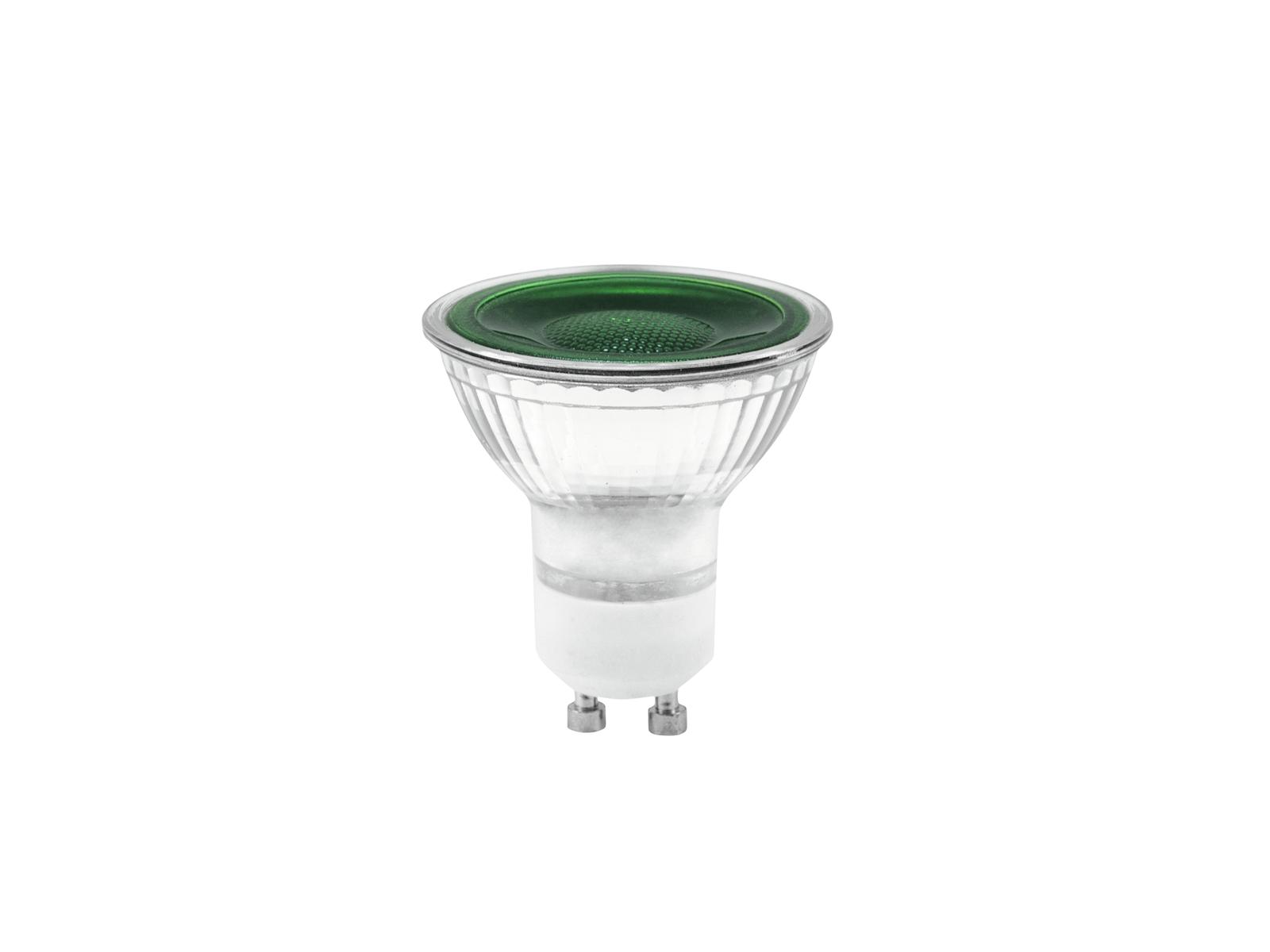 OMNILUX GU-10 230V LED SMD 7W verde