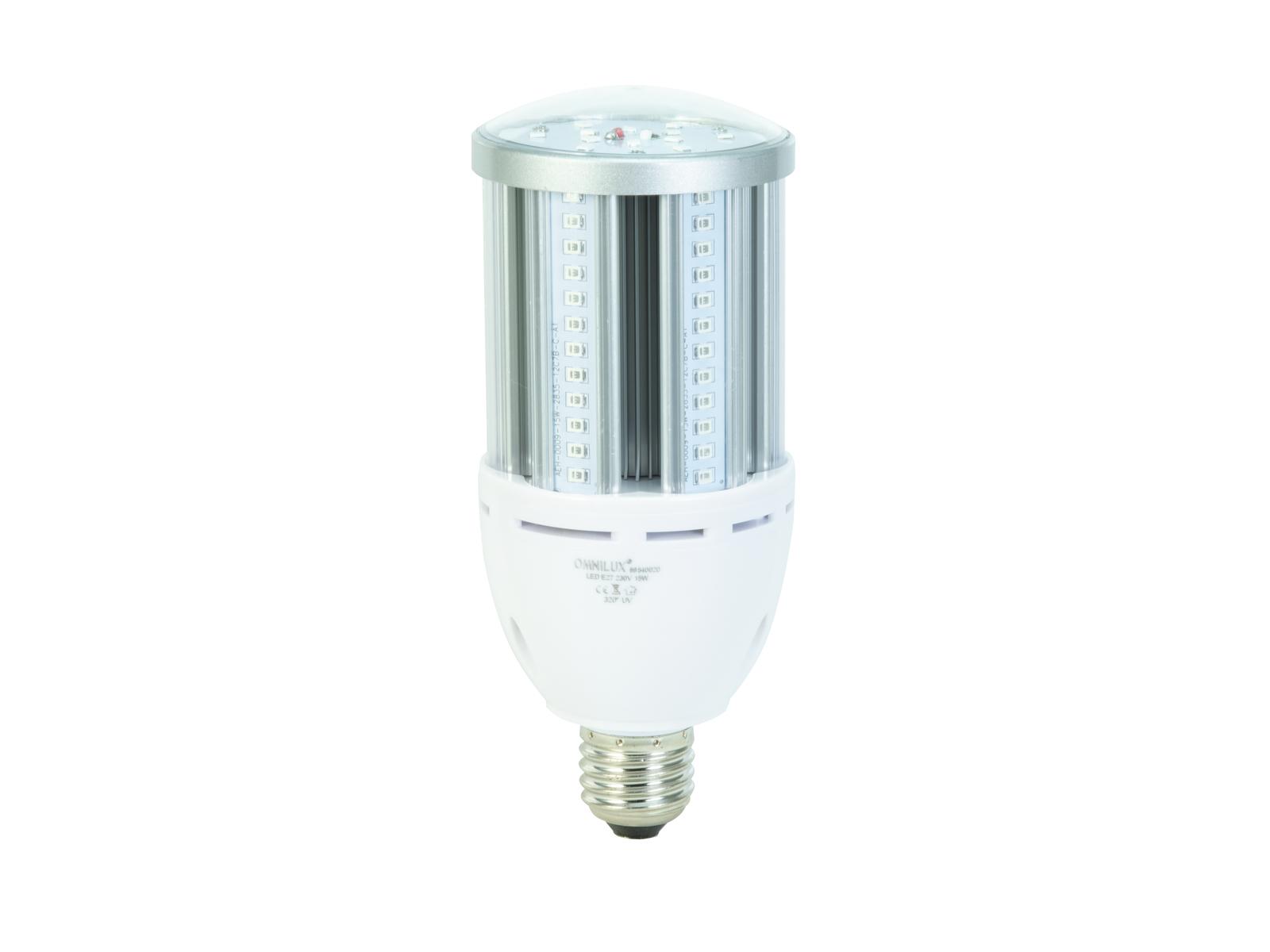 OMNILUX LED E-27 230V 15W 80 Led UV