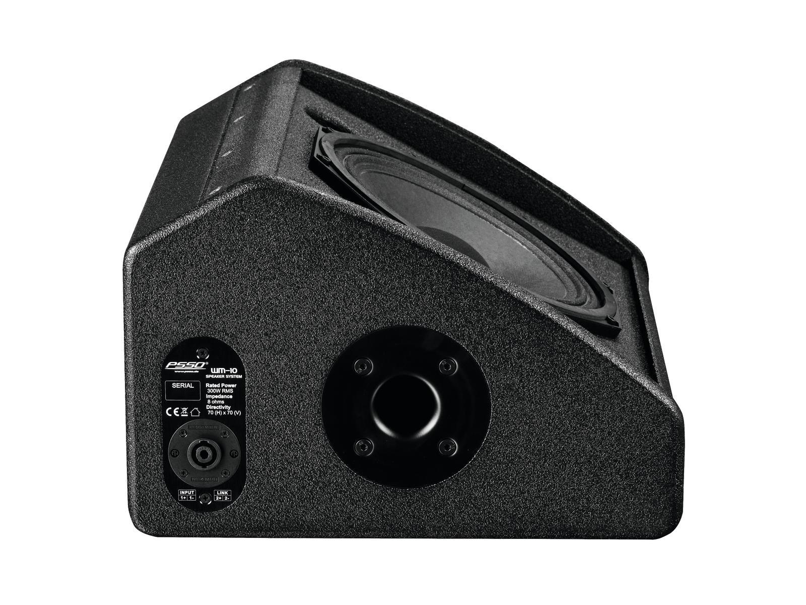 PSSO K-210CM 2-Wege-Koaxial-Monitor 300W