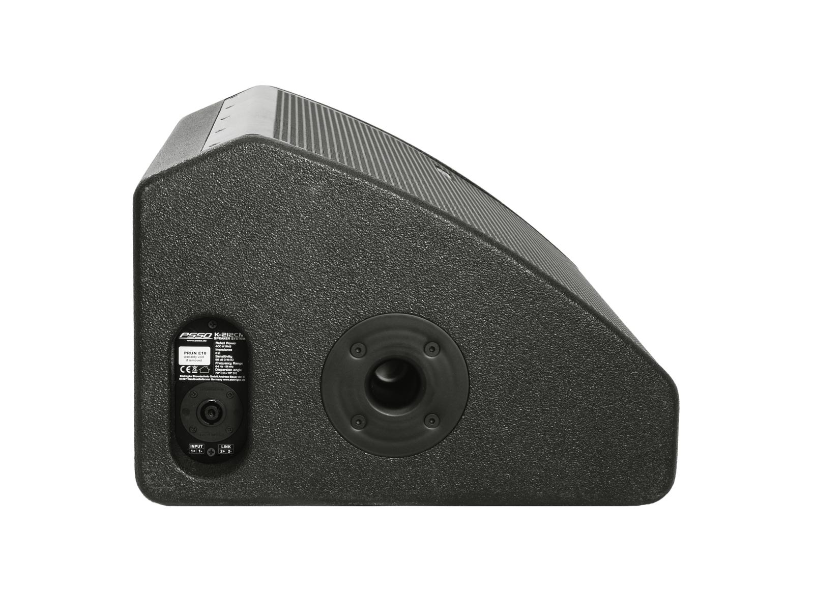 PSSO K-212CM 2-Wege-Koaxial-Monitor 400W